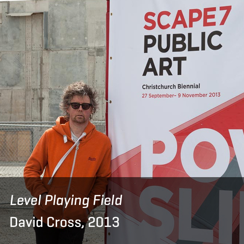 Level Playing Field, David Cross