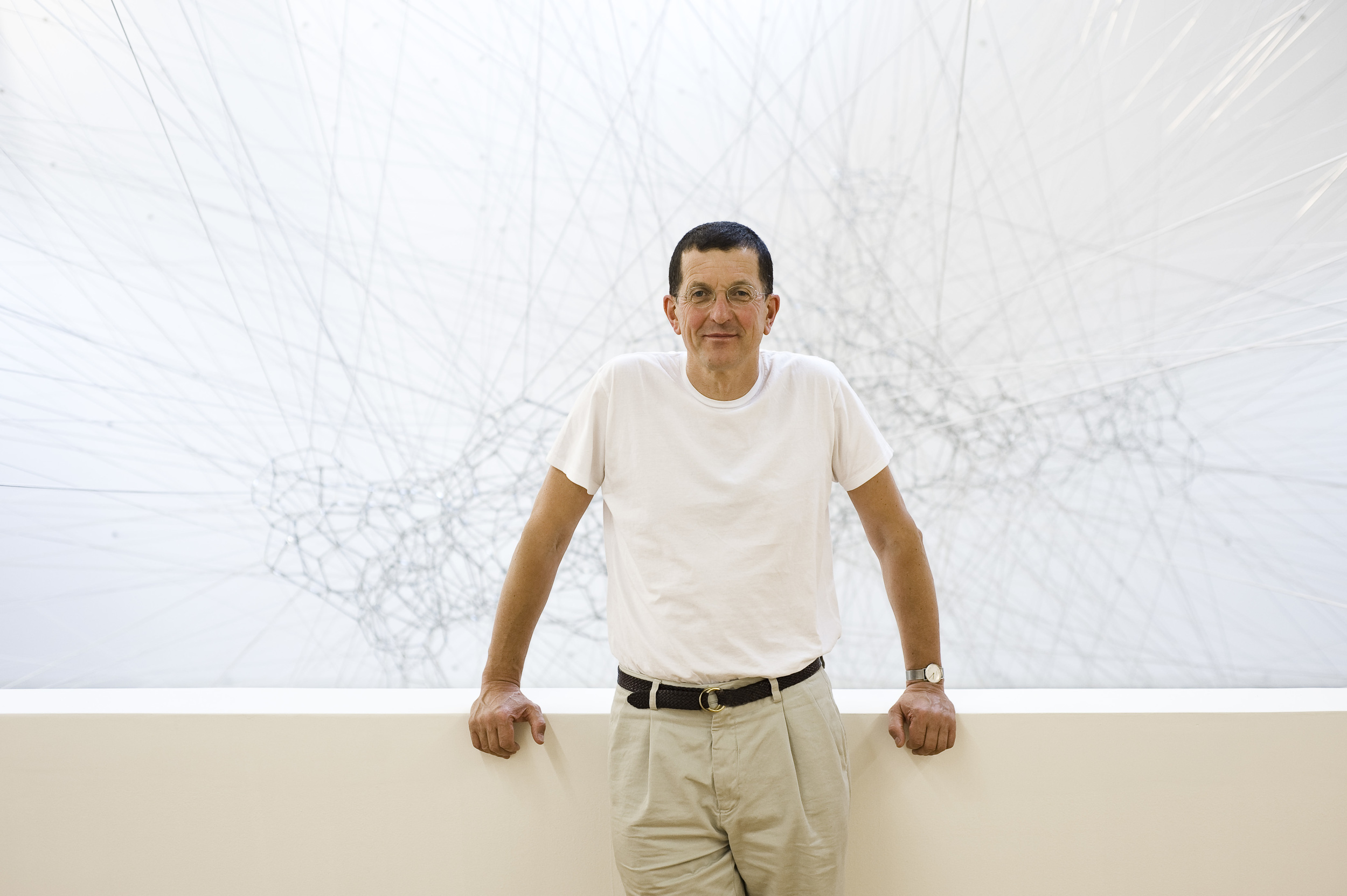 Antony Gormley; photo by Oak Taylor-Smith.