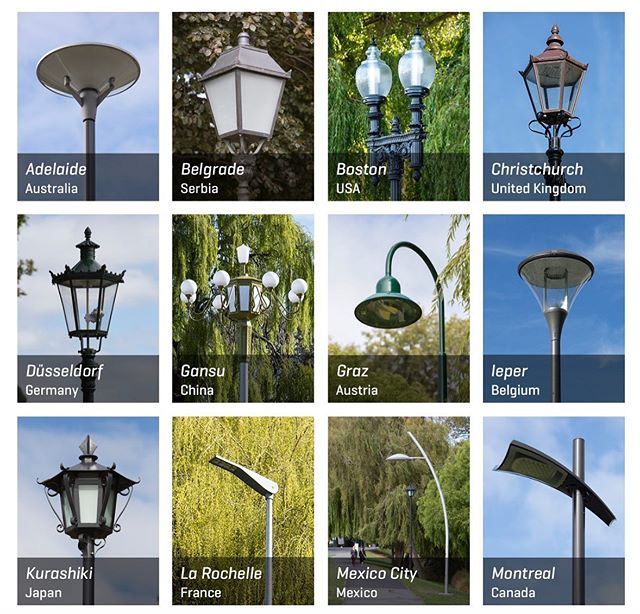 "Have you ever noticed the 21 different streetlamps providing light 💡 along the section on Park Terrace? These lamps are part of @mischakuball's ""Solidarity Grid"", a project that took place over three years (beginning in 2013) where a single streetlamp from 21 cities around the globe were gifted and installed in Christchurch following the 2011 earthquakes 🕯Over the next 21 days we will share the stories and countries behind each lamp, each one representing a gesture of solidarity with Christchurch during its rebuilding and recovery process 🌃 . . . . . #scapeart #artmatters #publicart #solidarity #global #light"