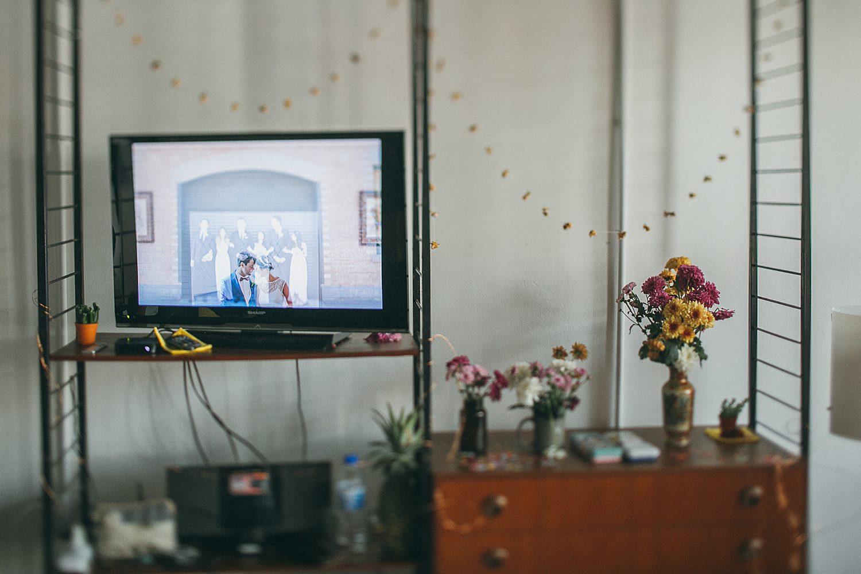 TV scene capturing