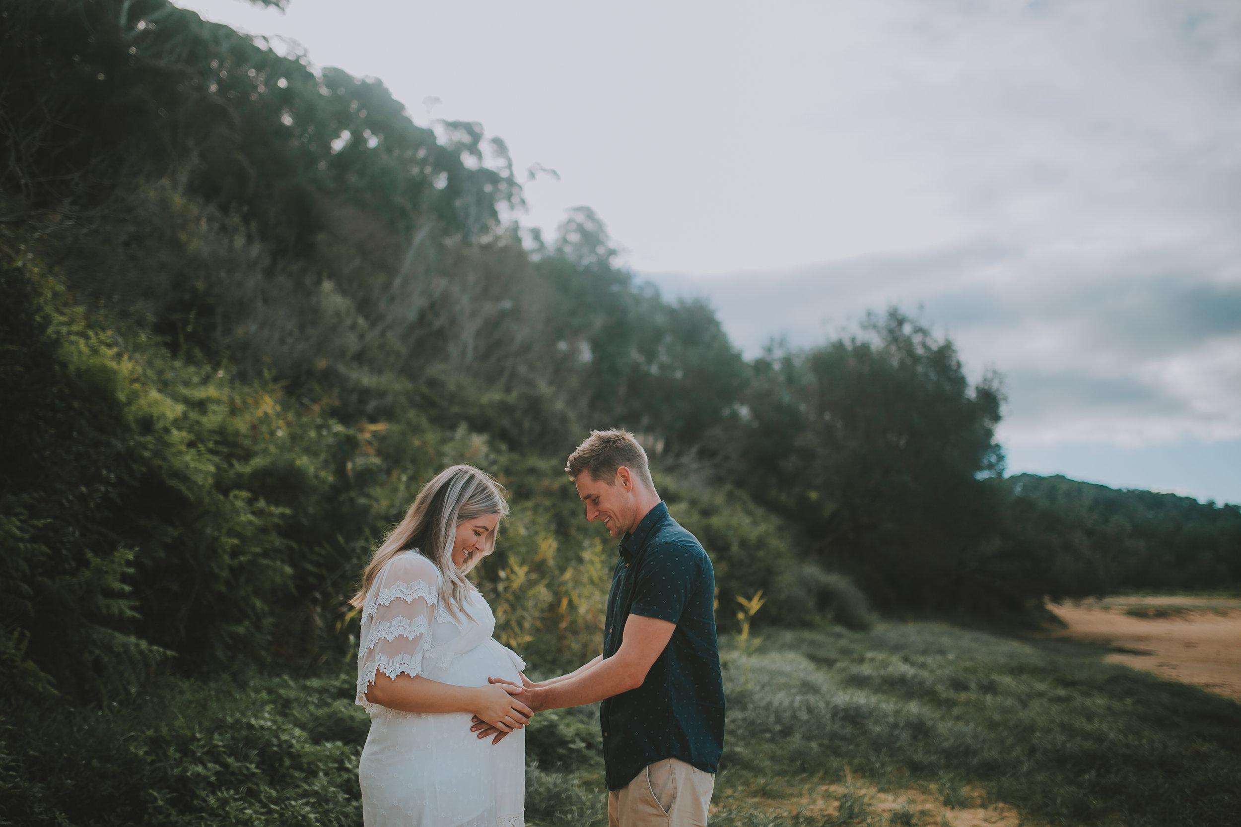 Maternity photography central coast