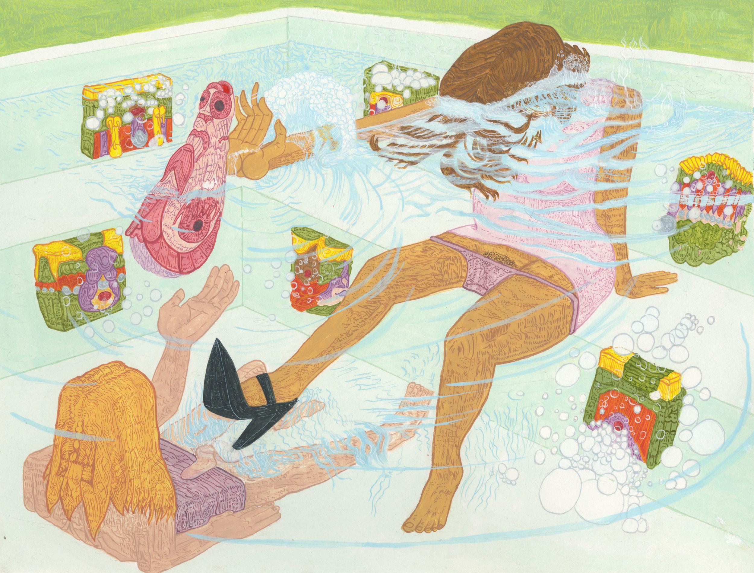 Bad Things Happen in Hotubs (The Eunuch Sent to Retrieve the Skin of Ereshkigal)