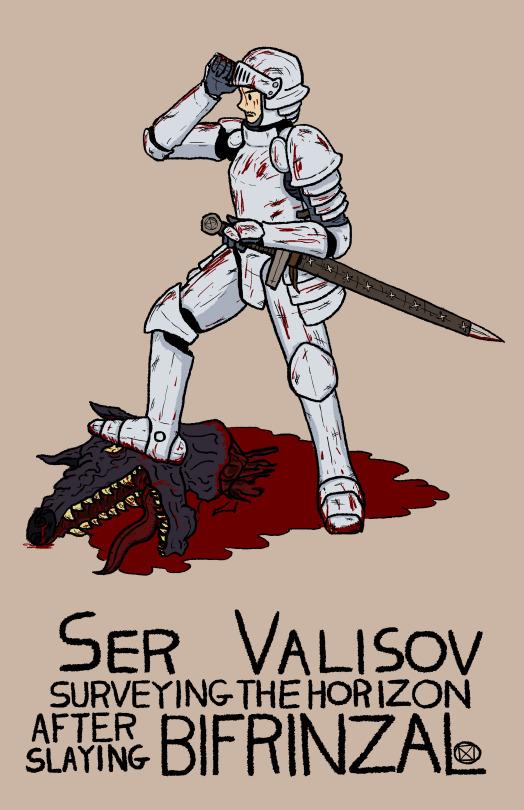 Ser Valisov and Bifrinzal - Digital Art - 2014