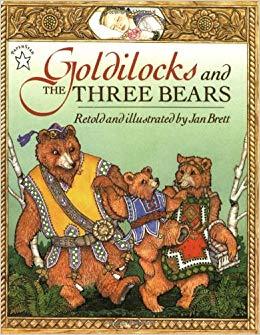 Goldilocks and the Three Bears Jan Brett