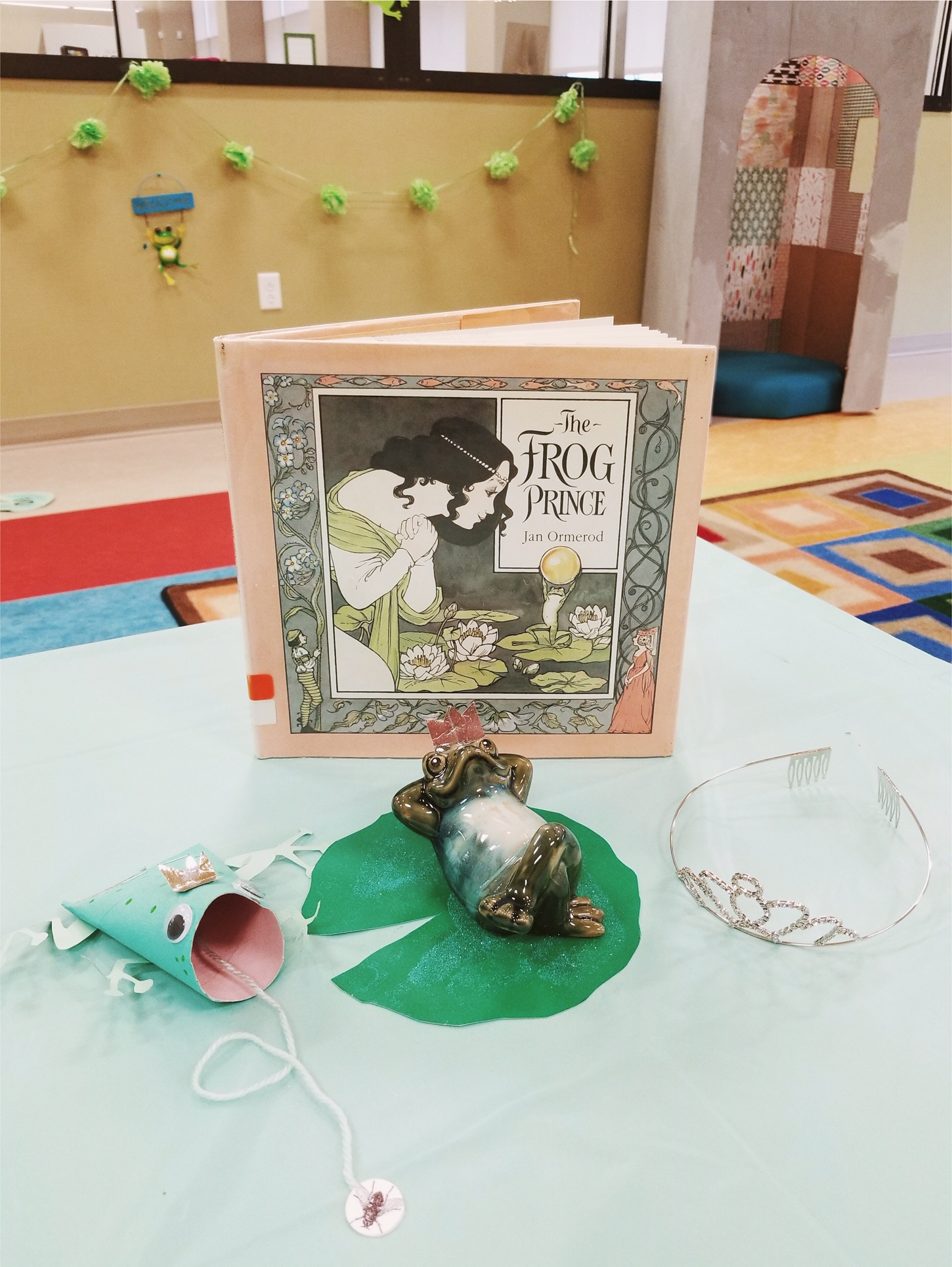 The Frog Prince Story Time #frogprince #frog #party #thefrogprince #fairytale #storytime #kidsparty #kidscraft #library #childrenslibrary