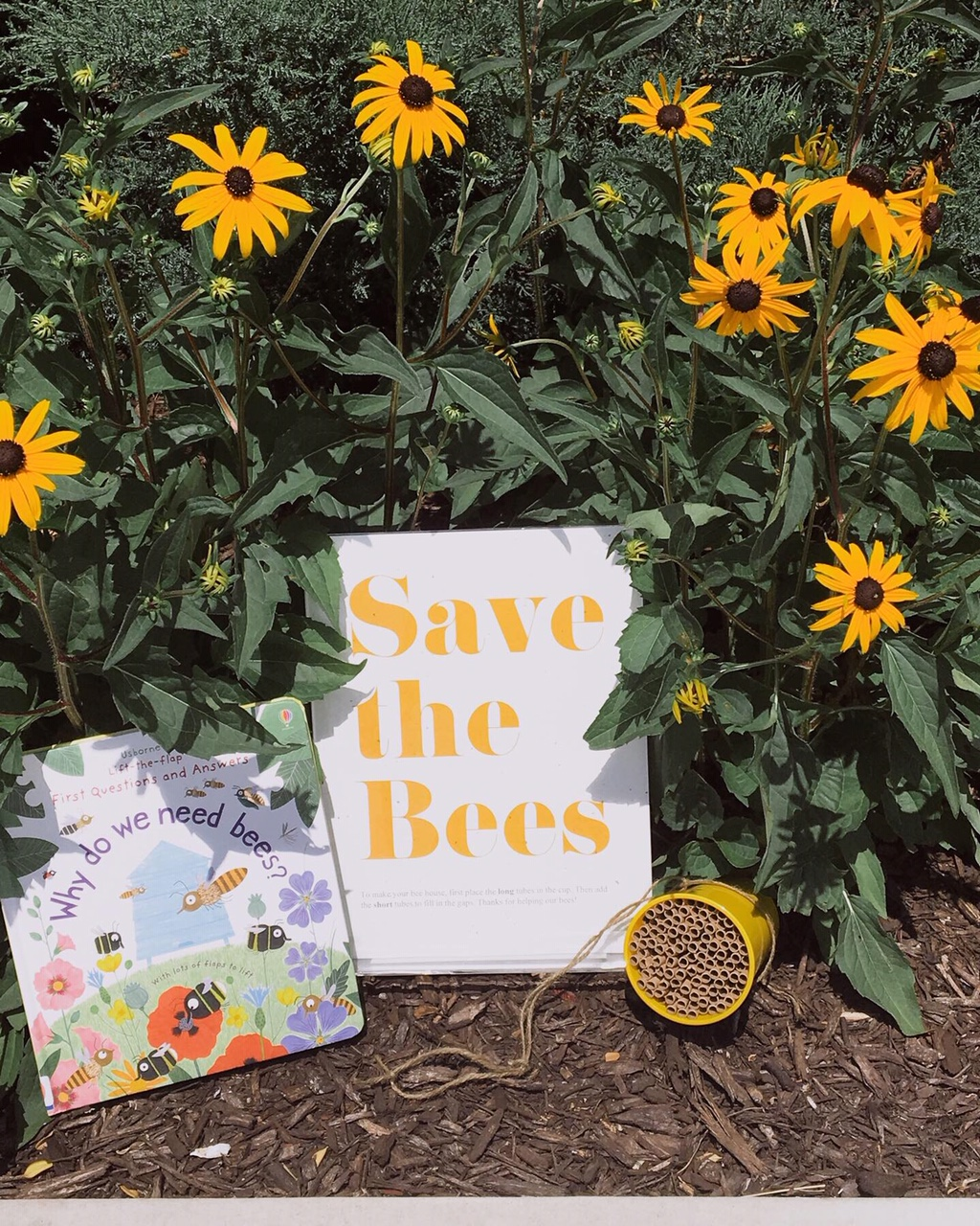 Save the Bees Story Time #savethebees #kidscraft #library #childrenslibrary