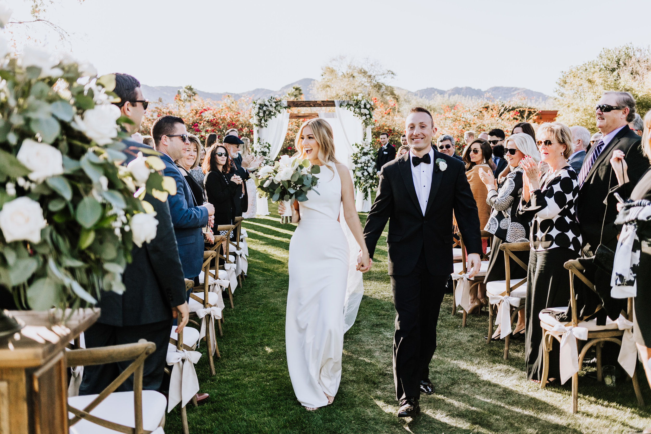 Lauren + Hartley - BACKYARD WEDDING