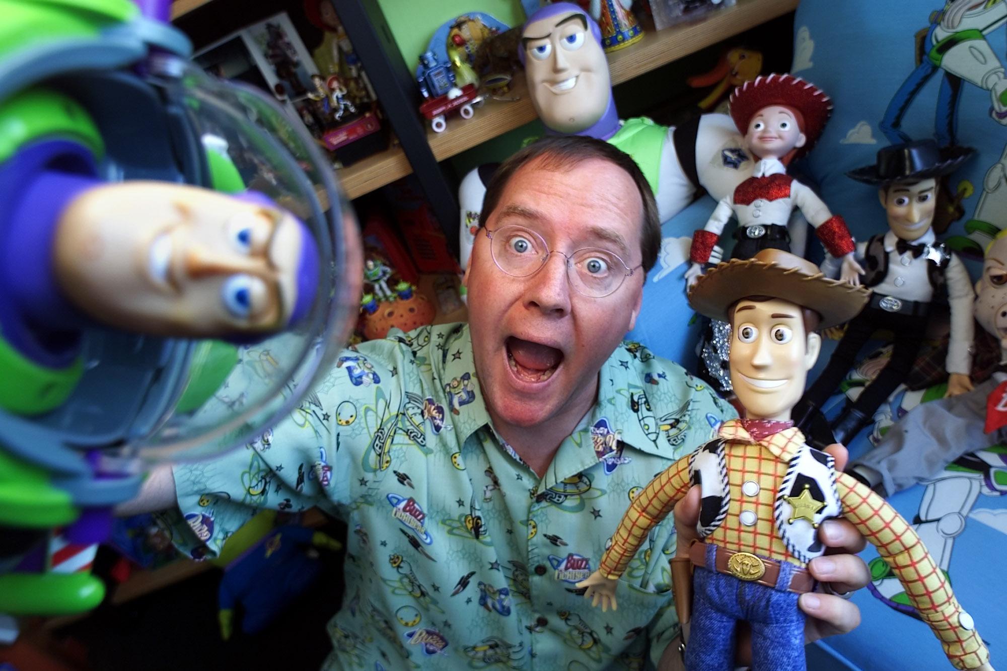 John Lasseter - Pixar co-founder