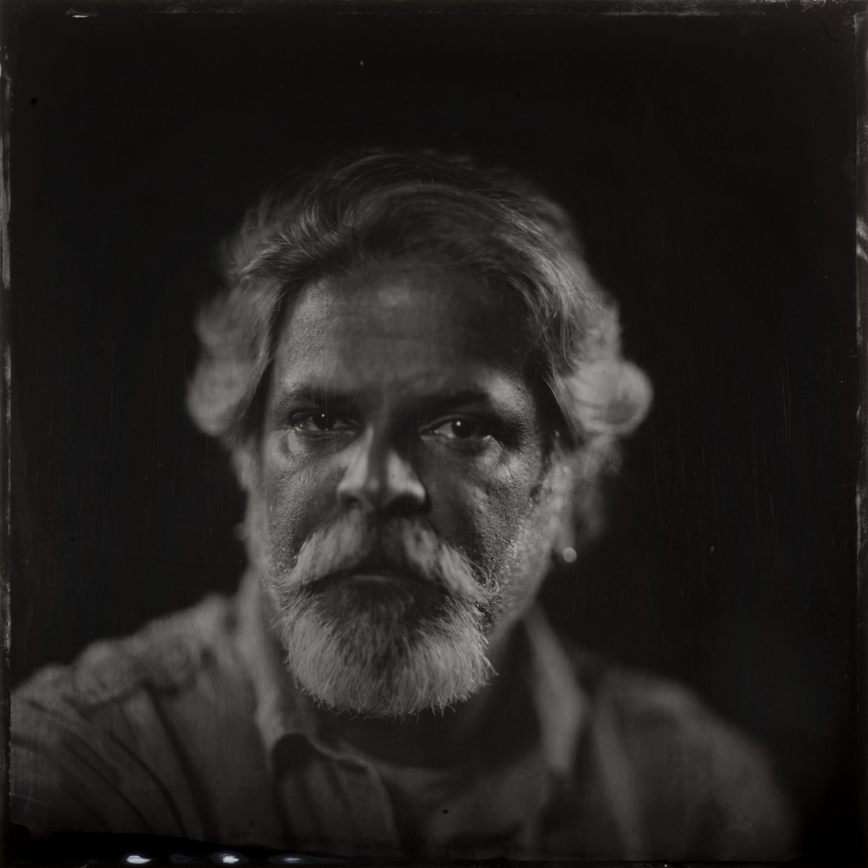 "Tomas Hermandez, videographer - Alumitype 14""x 14"""