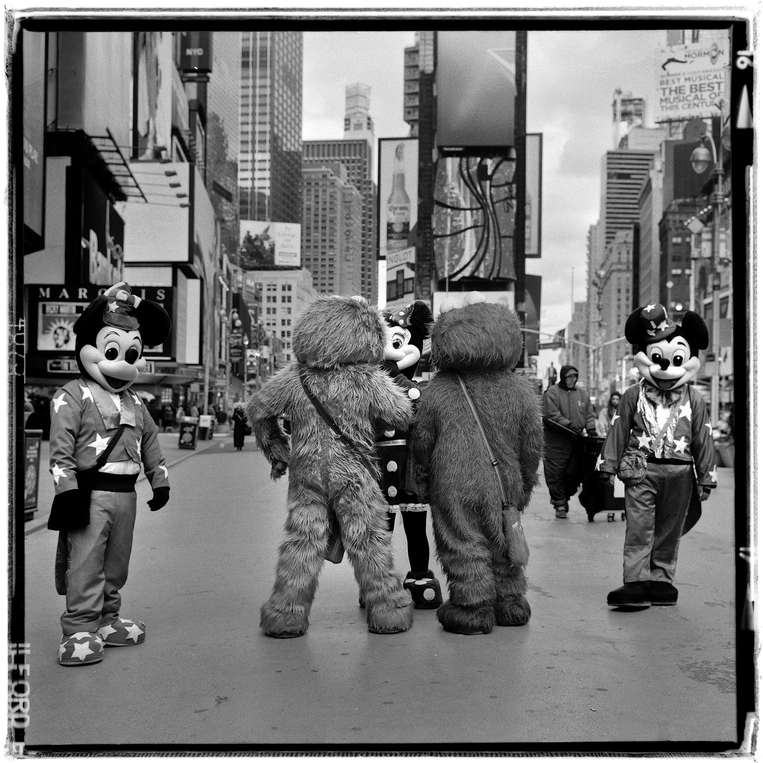 Flanking Mickey's - Time Square, NYC