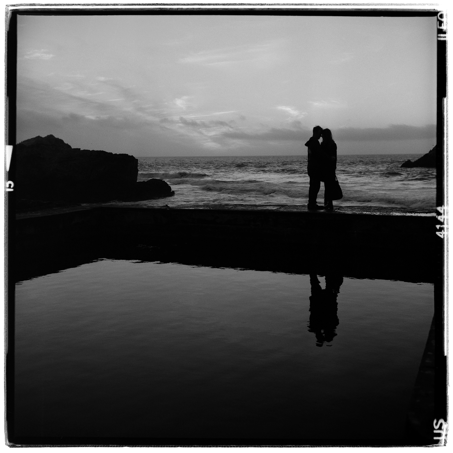 Sunset embrace - Sutro Baths, San Francisco, CA