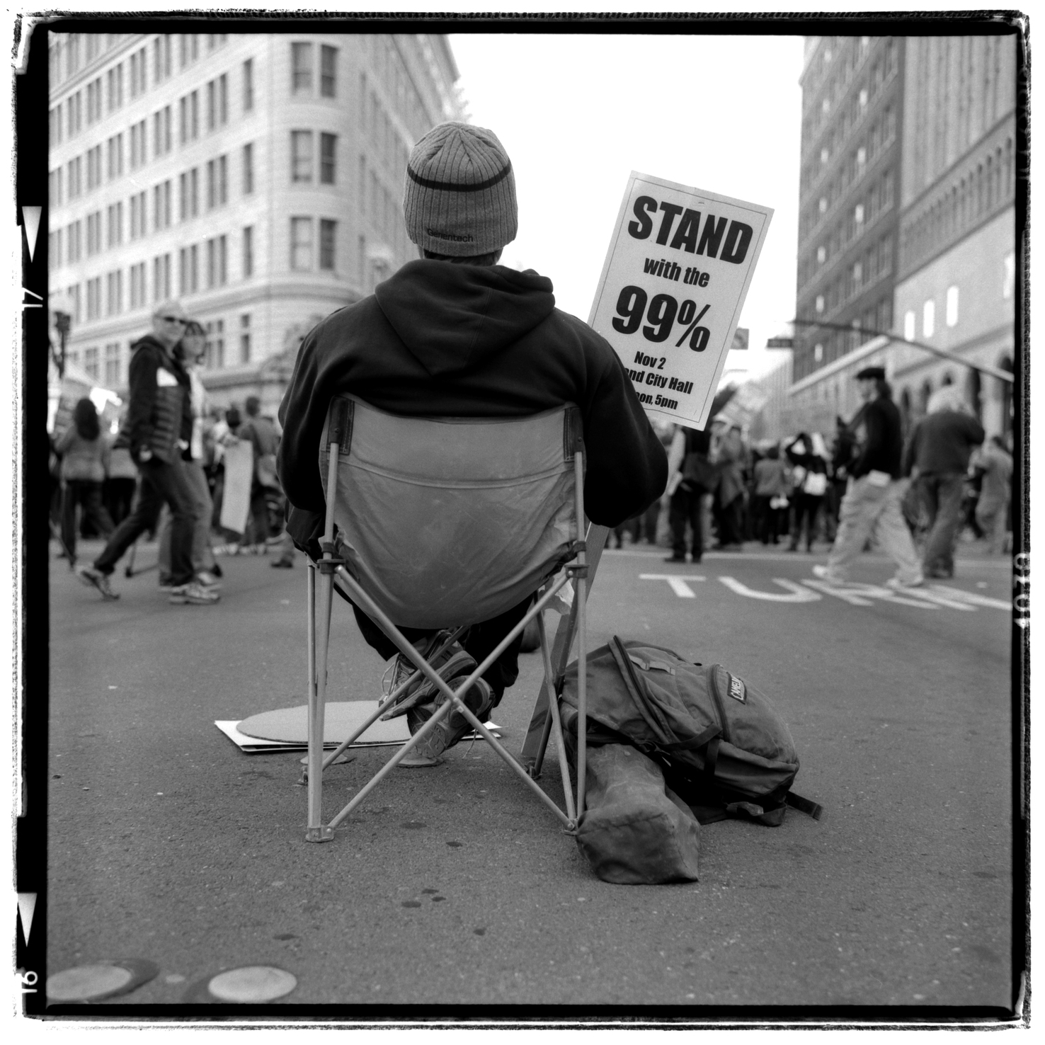 1% sitting - Occupy-Oakland, Oakland, CA