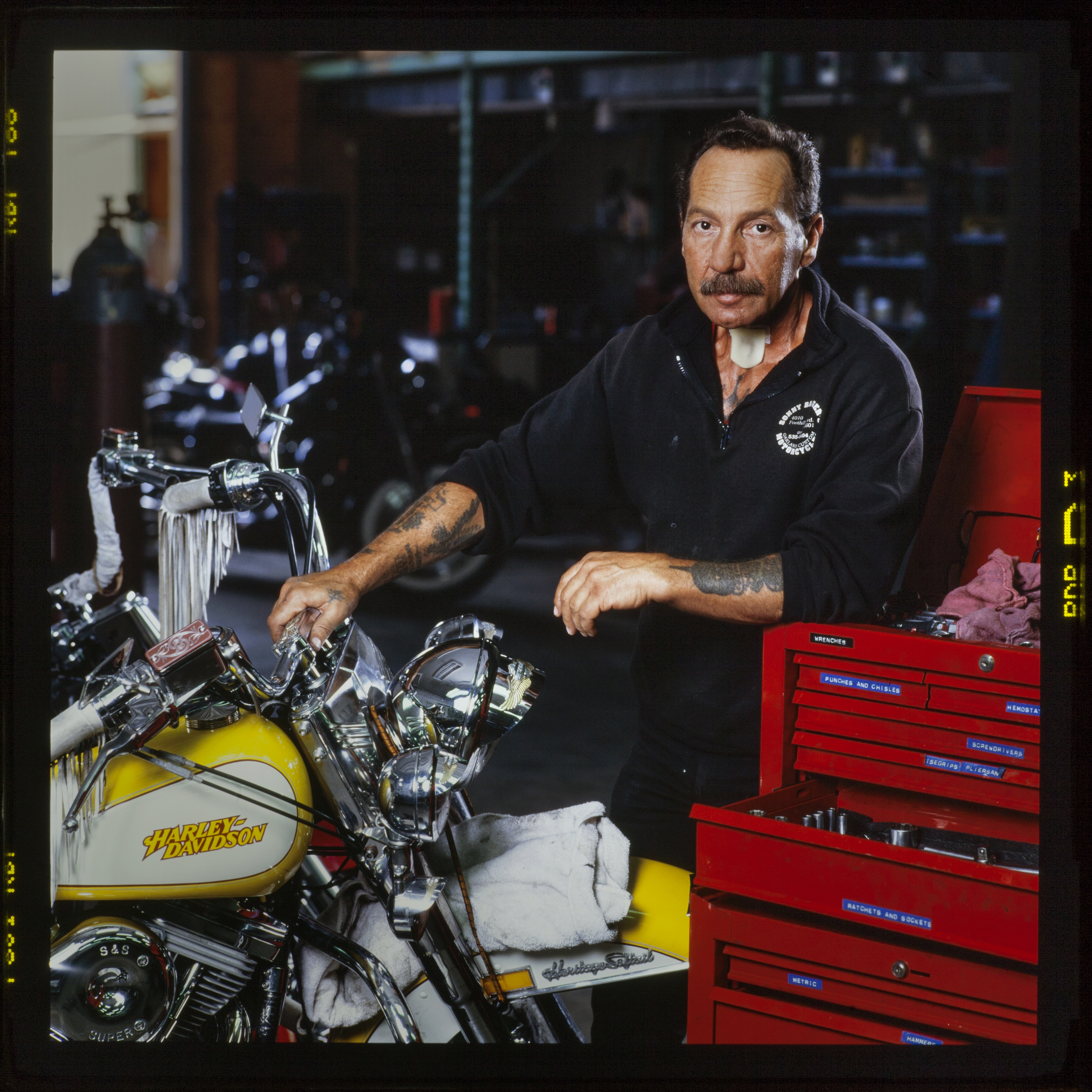 "Ralph Hubert ""Sonny"" Barger - founding member (1957), Oakland, California, U.S. chapter of the Hells Angels Motorcycle Club  - Oakland, CA"