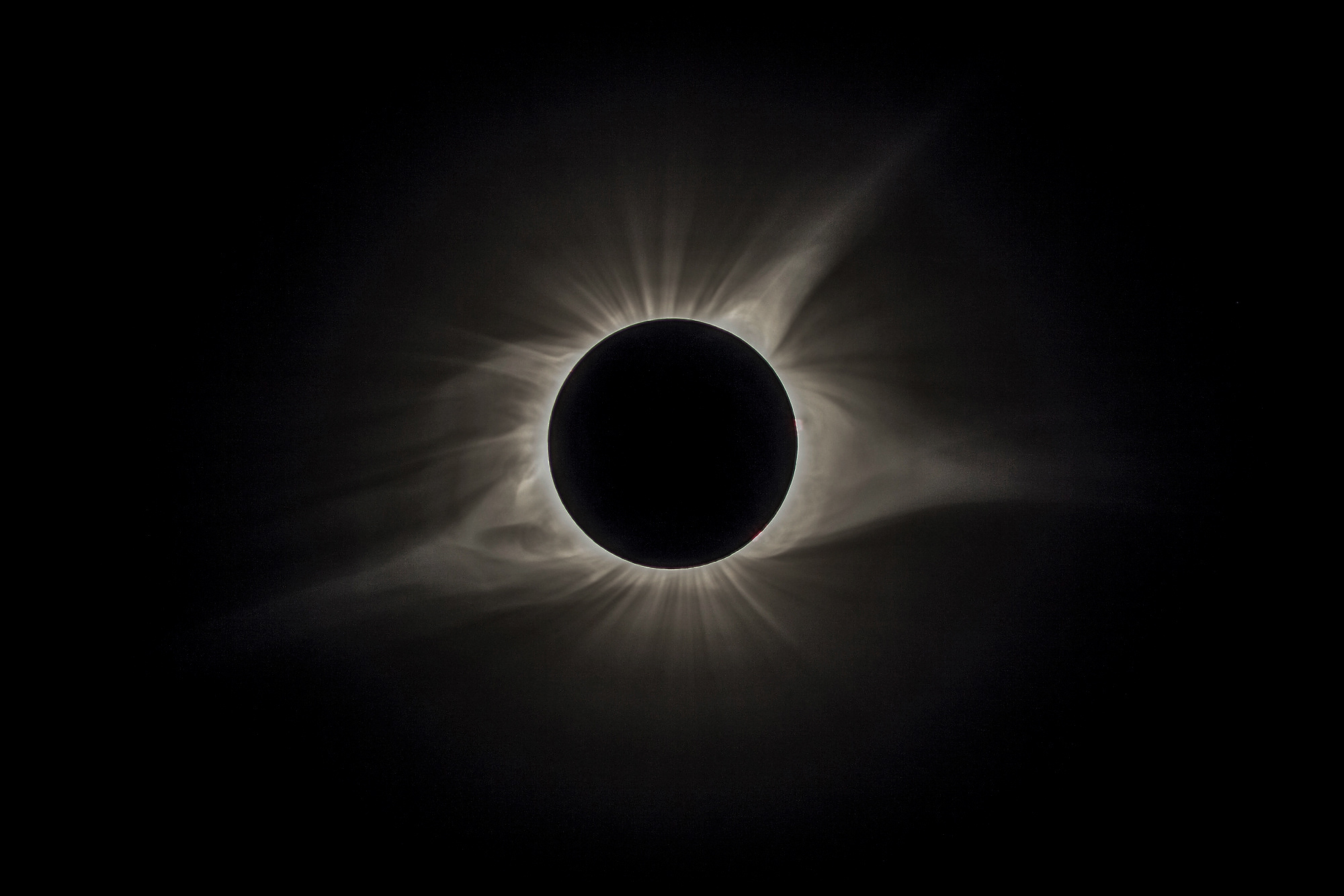 TOTALITY 2017.  Madras, OR - © 2017 Cameron and Peter DaSilva