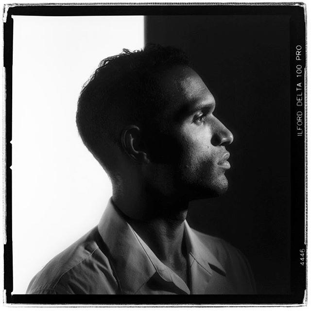 "LIFE SQUARED - ""a little black & a little white"" © 2018 Peter DaSilva. #little black #white #highcontrast #spotlight #portrait #120 #ilford #delta100pro #bw #film #fullframe  #hasselblad #elx553 #150mm #filmisnotdead #filmlover #6x6 #analog #nophotoshop #filmphotographer #pdsphoto #peterdasilva #analogueposse"