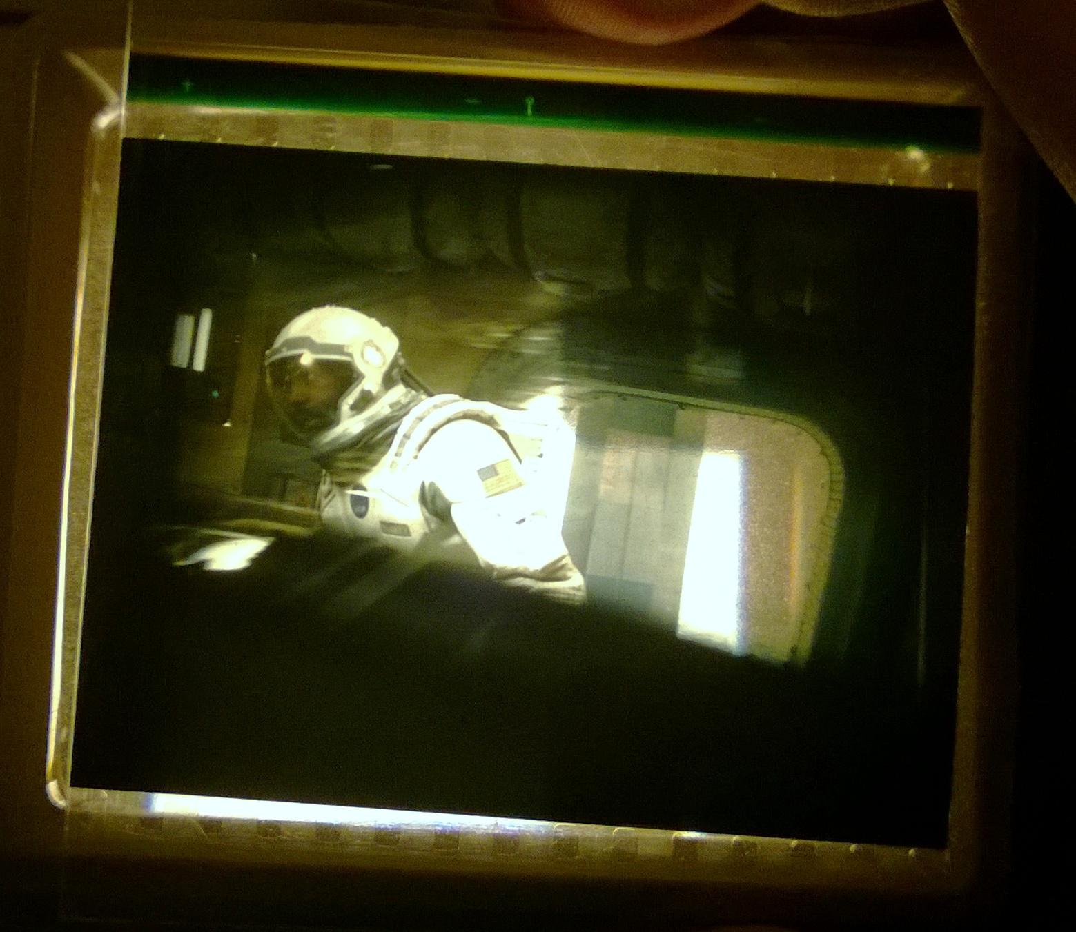 My piece of IMAX film from Interstellar