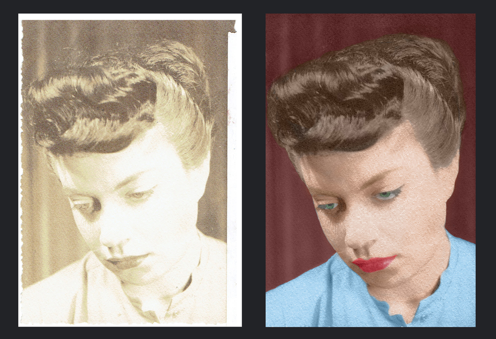 photo manipulation, retouching, editorial, headshots, restoration