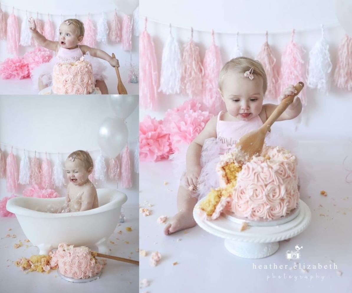 Cake Smash & Splash Photoshoot