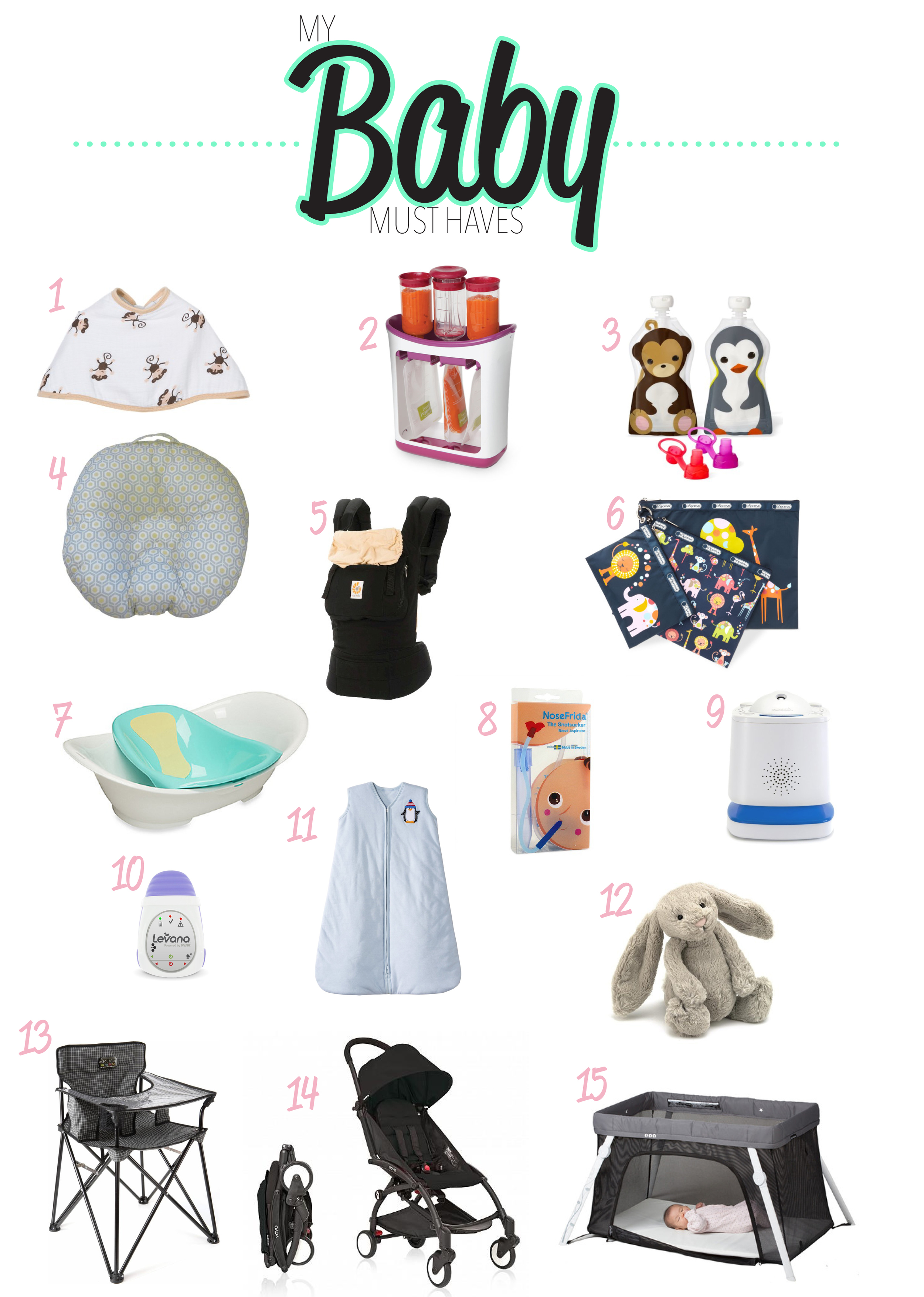 Baby Registry Must Haves to get you through the first year and beyond