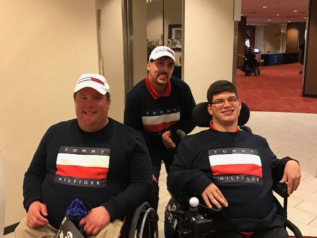 Garrett, Matthew and Ryan Pre-race party.jpg