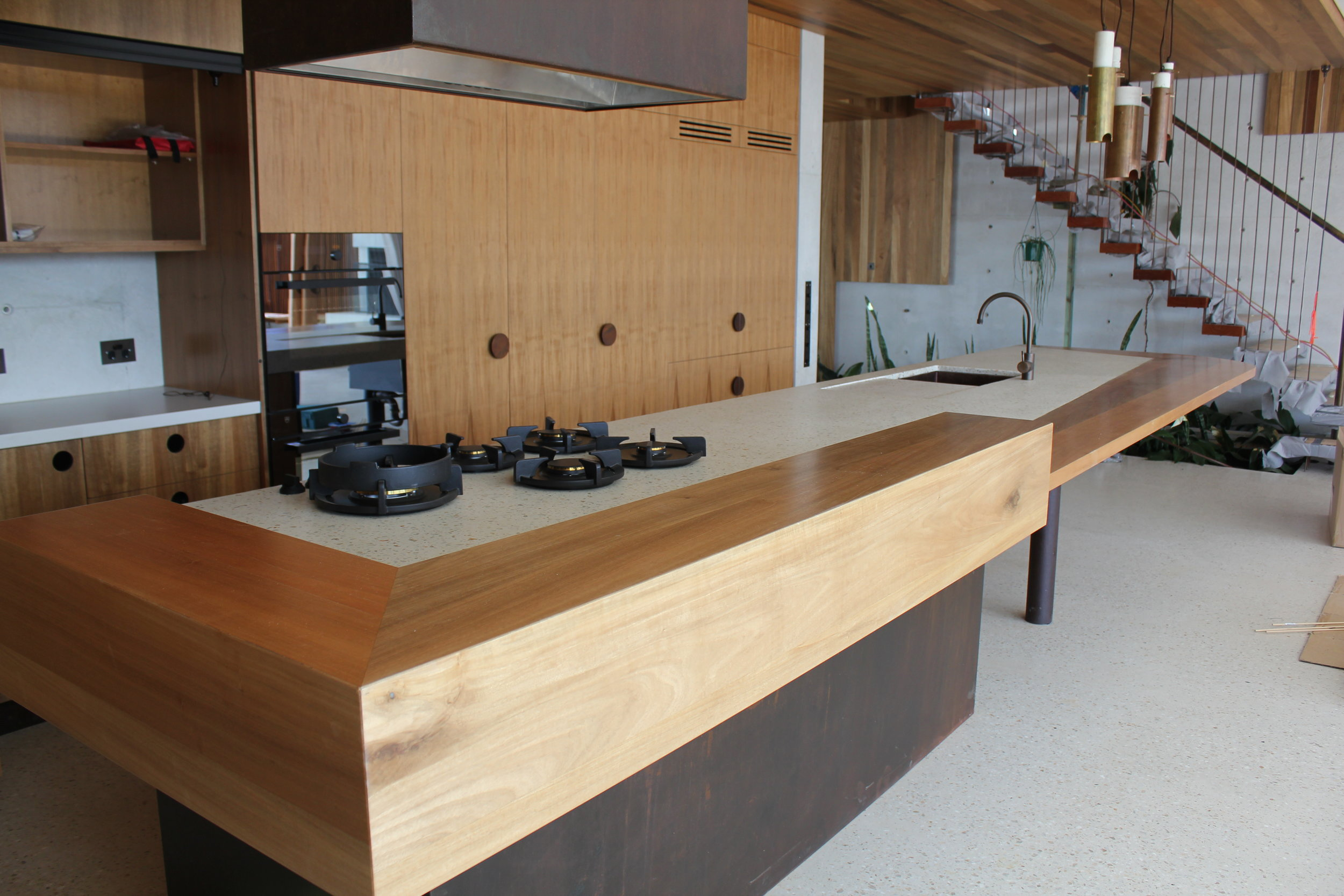 Aardvarc    - Concrete Kitchen Benchtop, Concrete Kitchen Island    (Click on photo to see more photos)