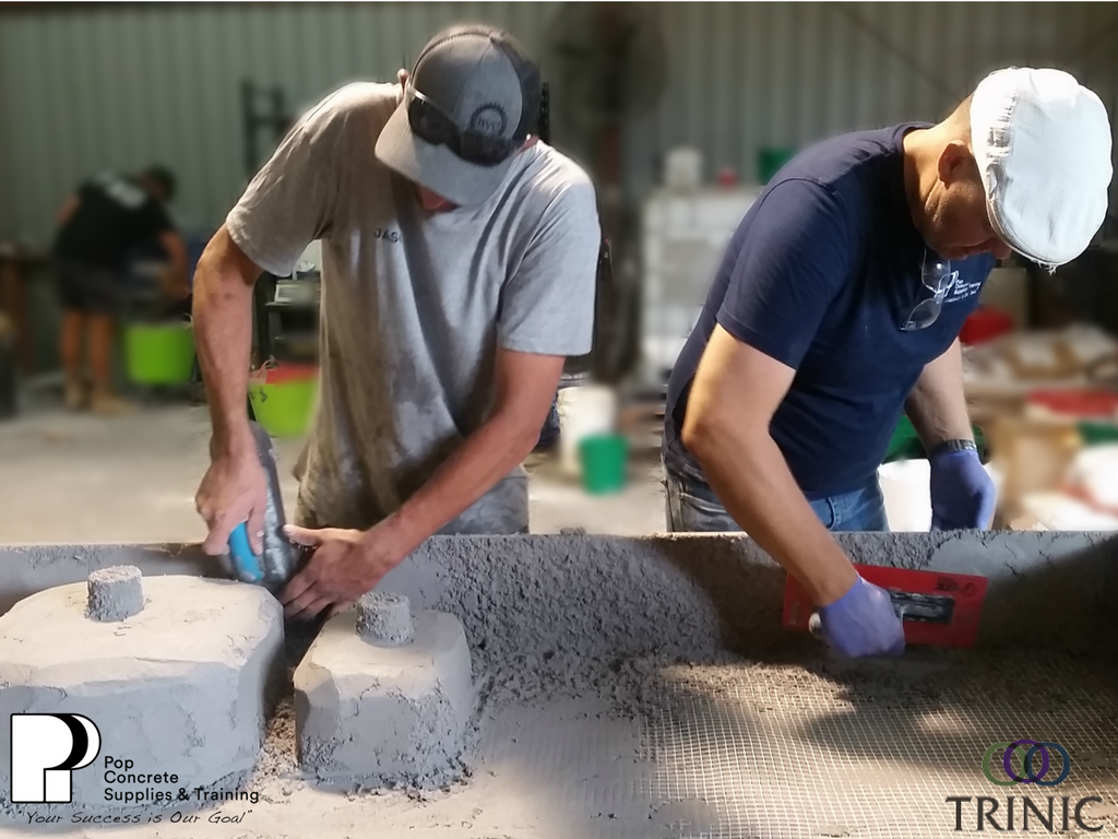 GFRC Concrete Training - (Pop Concrete Supplies & Training)
