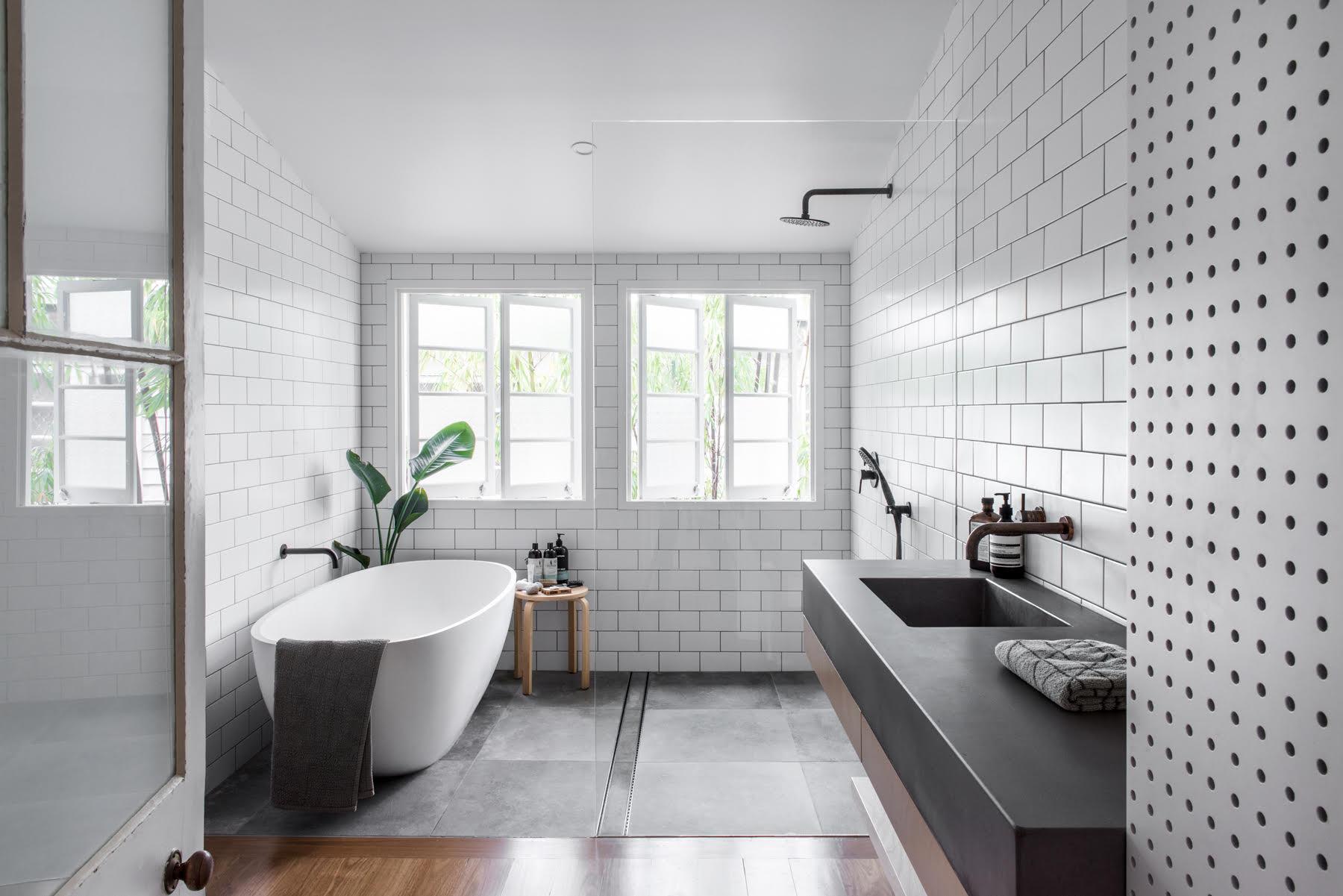 Greener Kitchens    - Concrete Bathroom Vanity