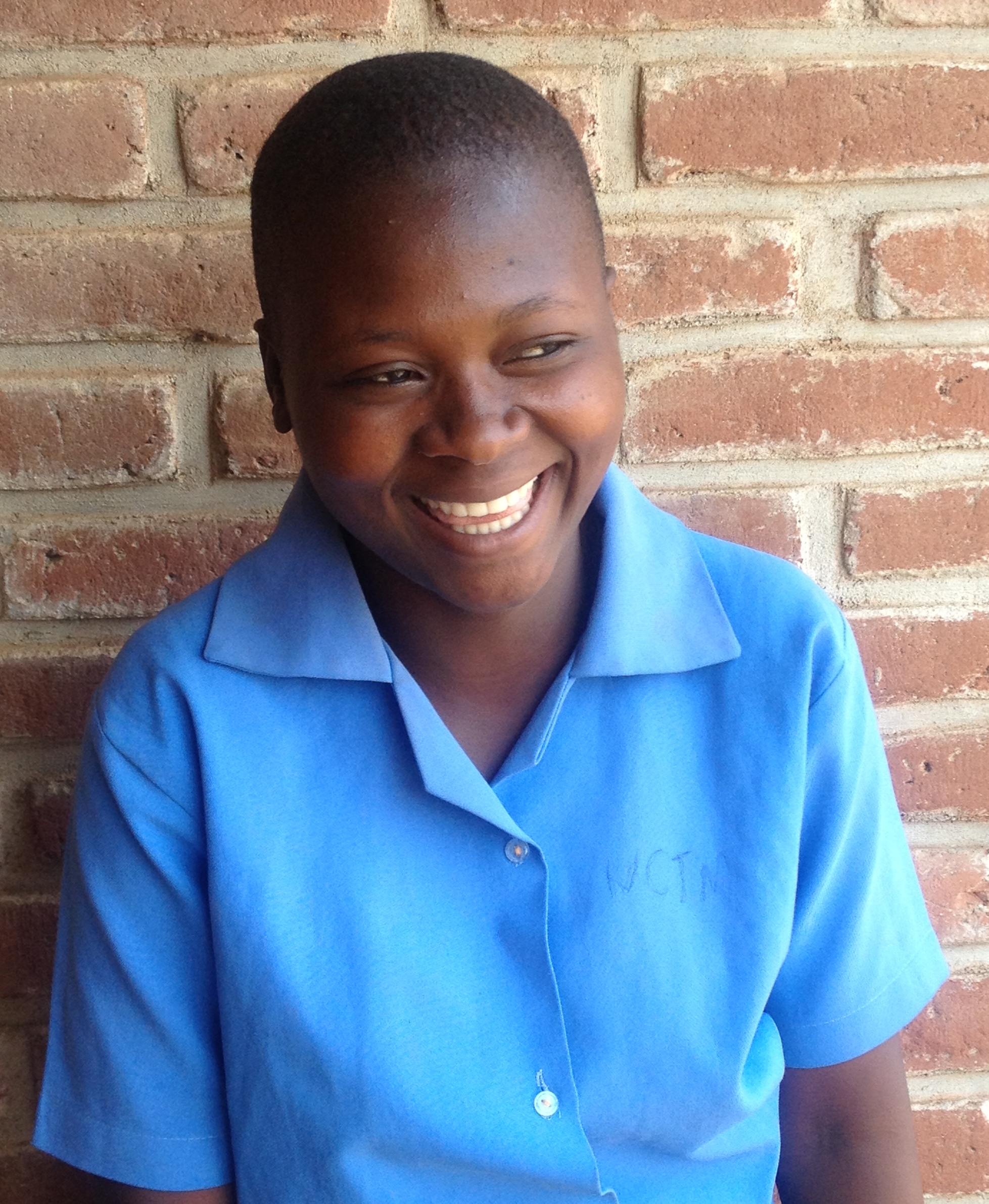 (September 7, 2015) Proceeds from the Eliza J dress sale are used to support scholar, Rose, as she begins her third year at partner, Children of the Nations, ICA school in Lilongwe, Malawi.