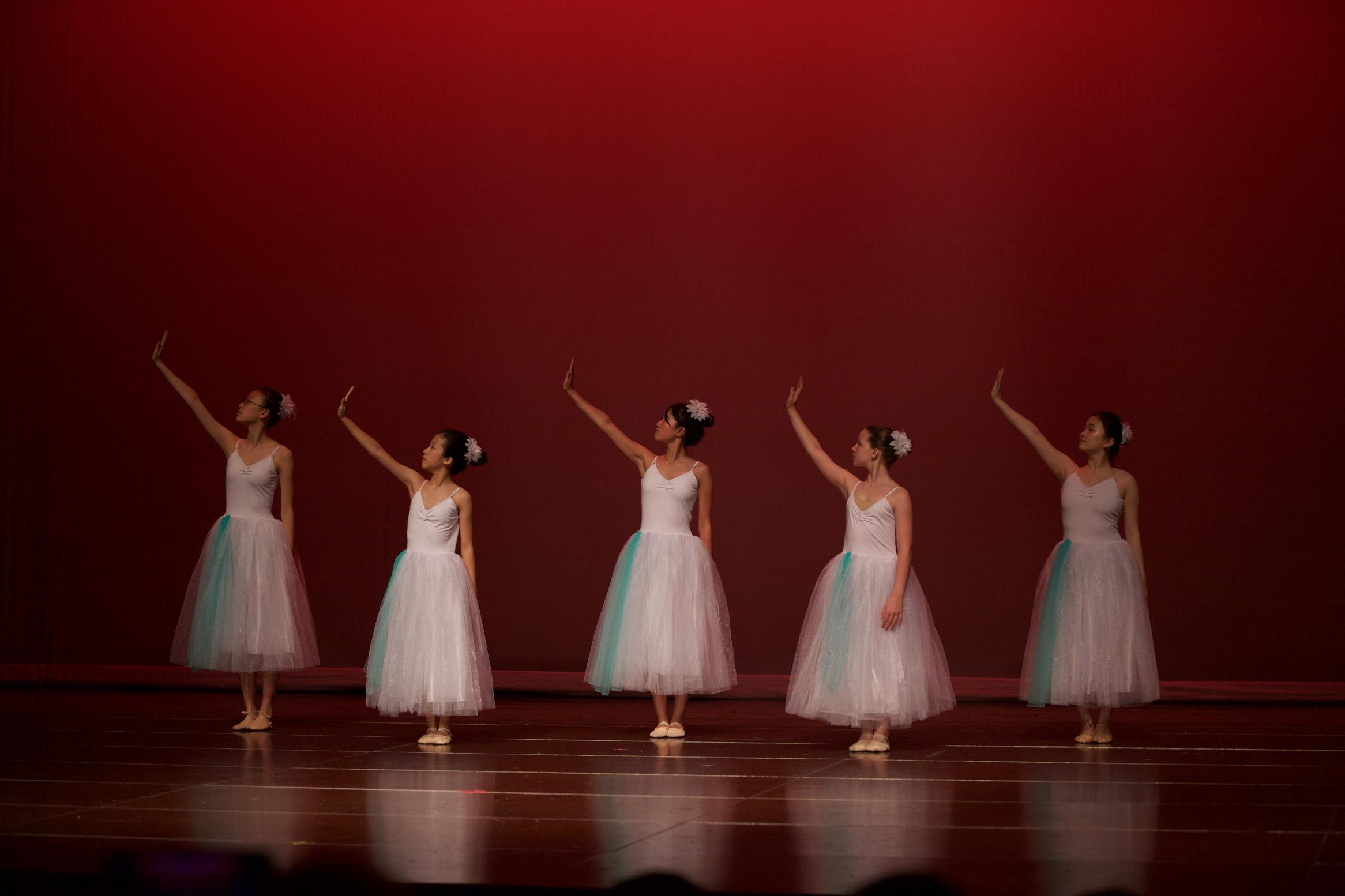 Serenade, Advanced Ballet