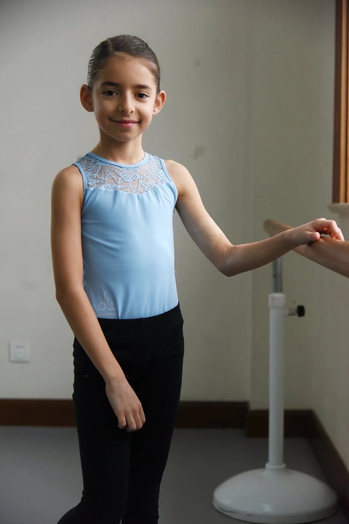 Isabella   Isabella has been dancing since she was 3 years old. She has Latin music inside her - ever since she was little, she has had an instinct for dance. She started dancing at DWS when she was 6. Isabella also loves to bake cakes!