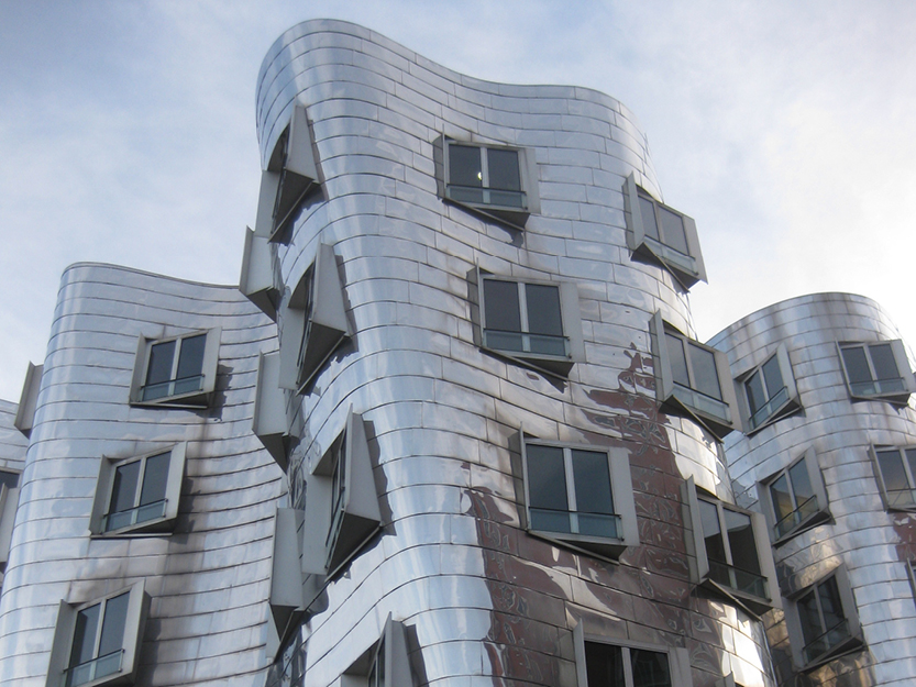 Buildings A, B + C, The Rheinhafen Centre of Arts and the Media by Frank O. Gehry – Düsseldorf