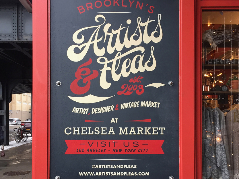 Artists & Fleas Chelsea Market – New York