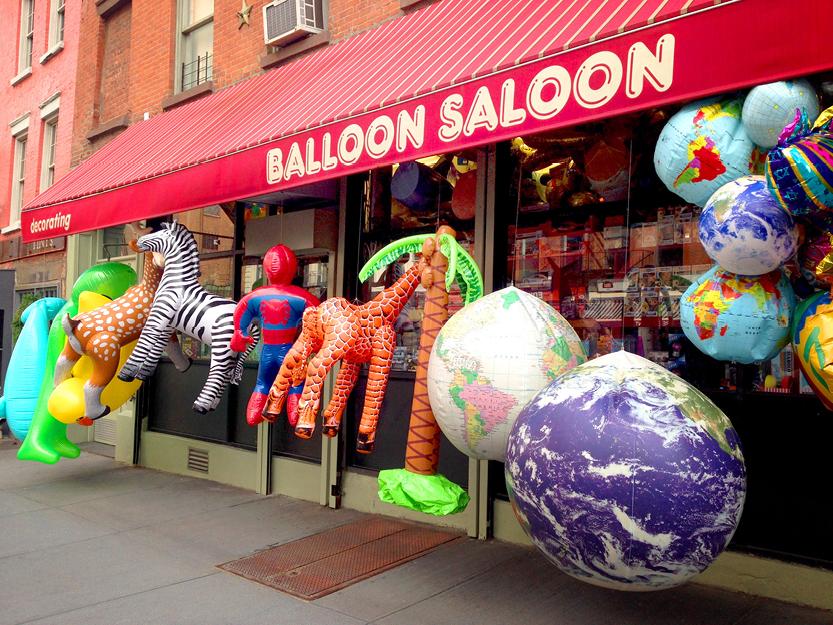 Balloon Saloon Store – Manhattan