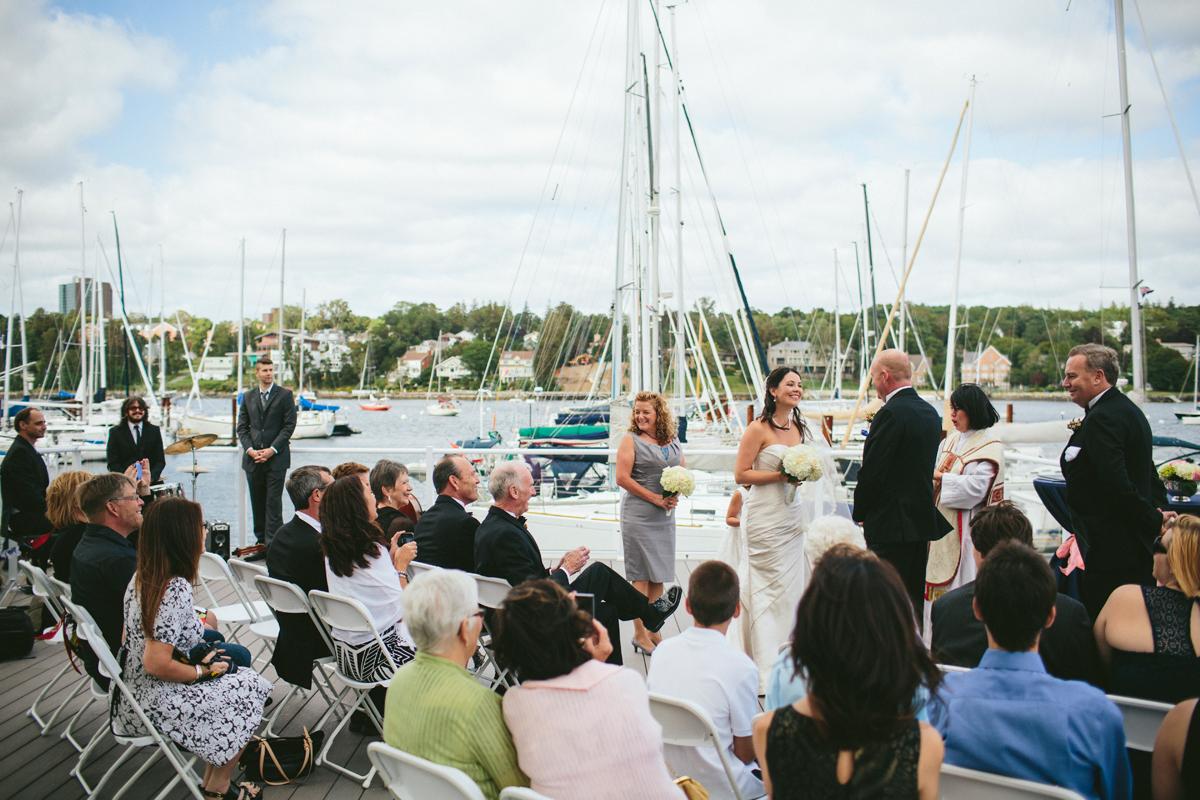 Yacht Club Wedding