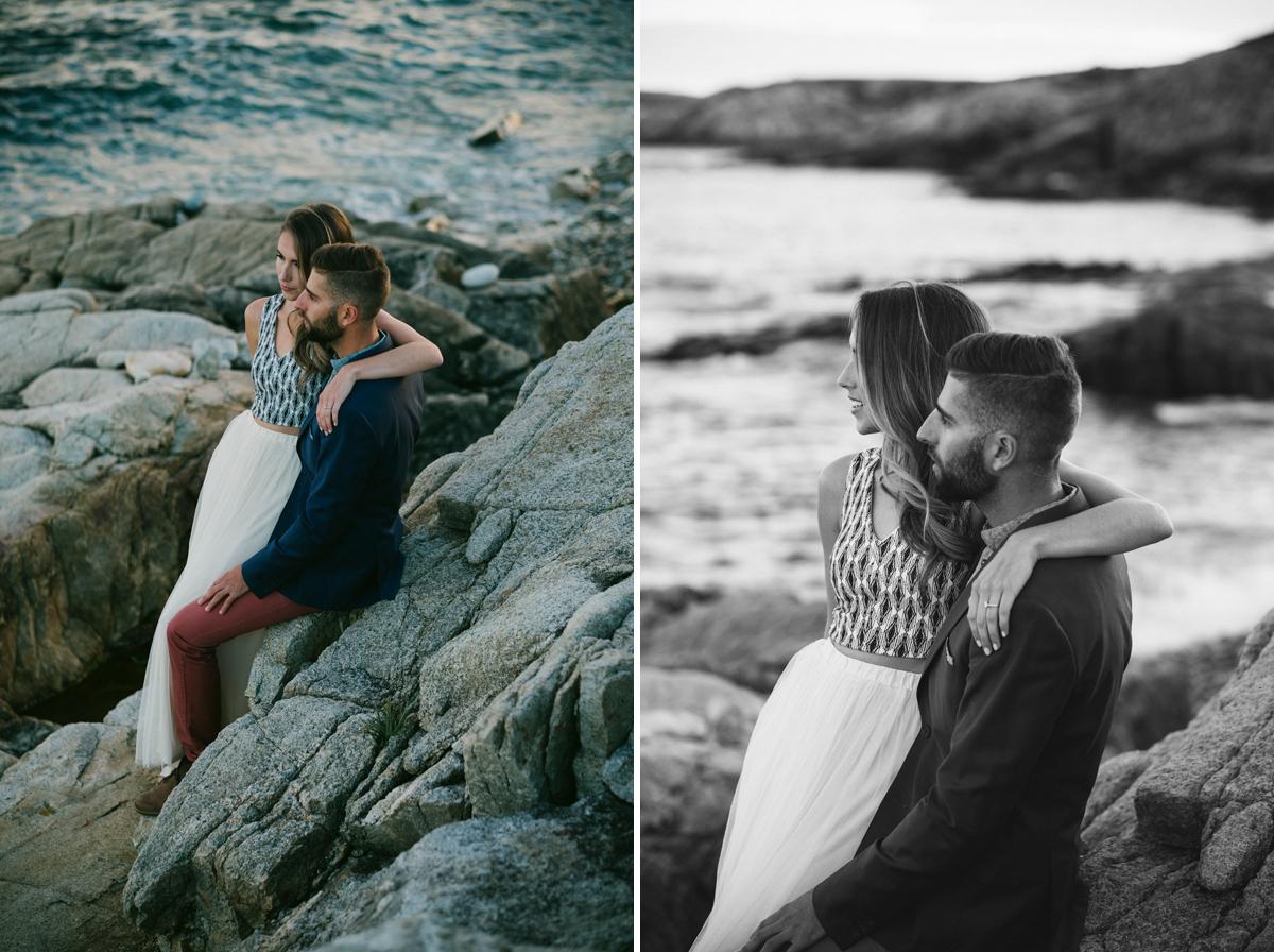duncans cove engagement photographer