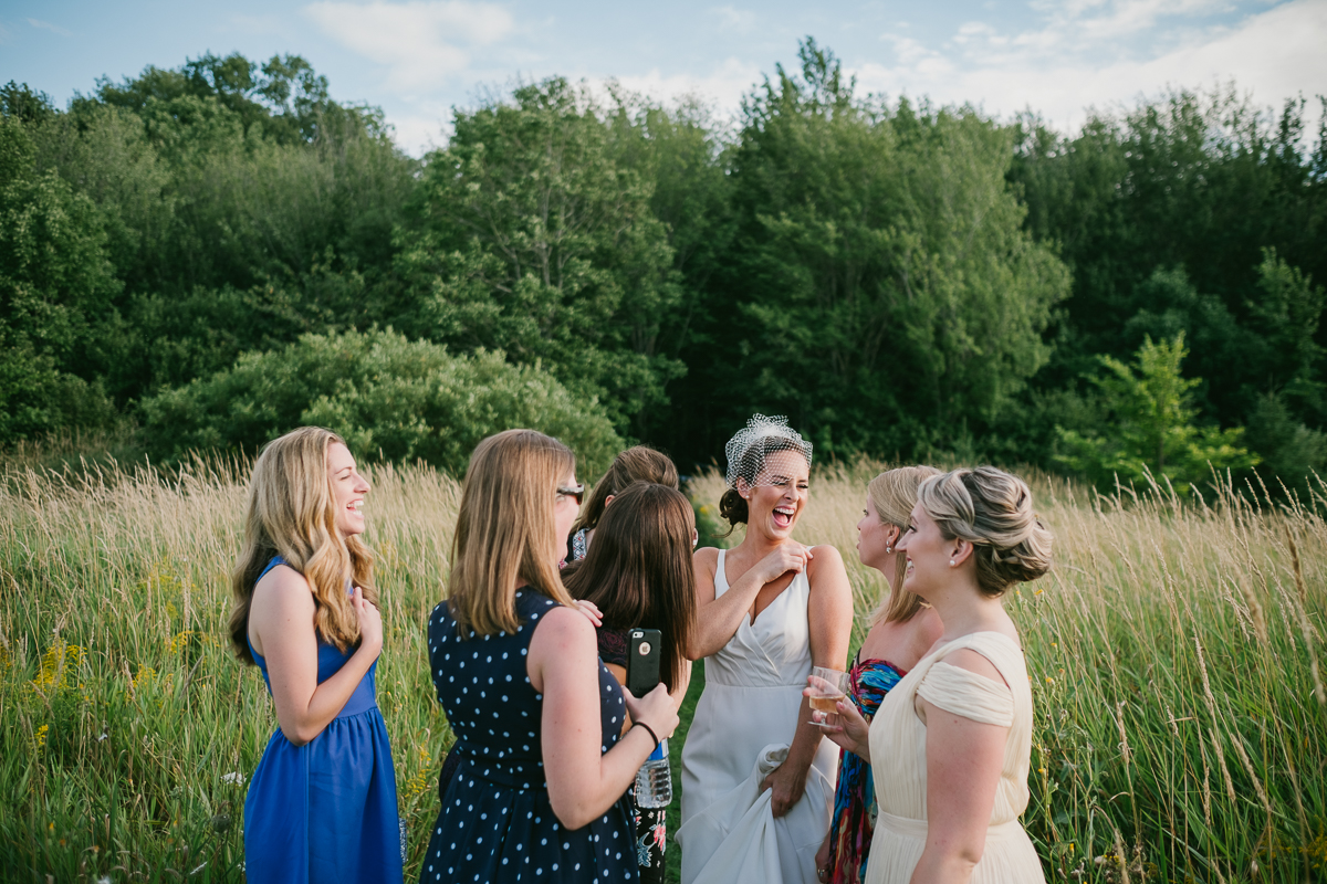 A Wolfville backyard wedding