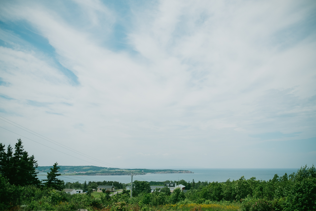 An outdoor wedding in Port Hood Nova Scotia