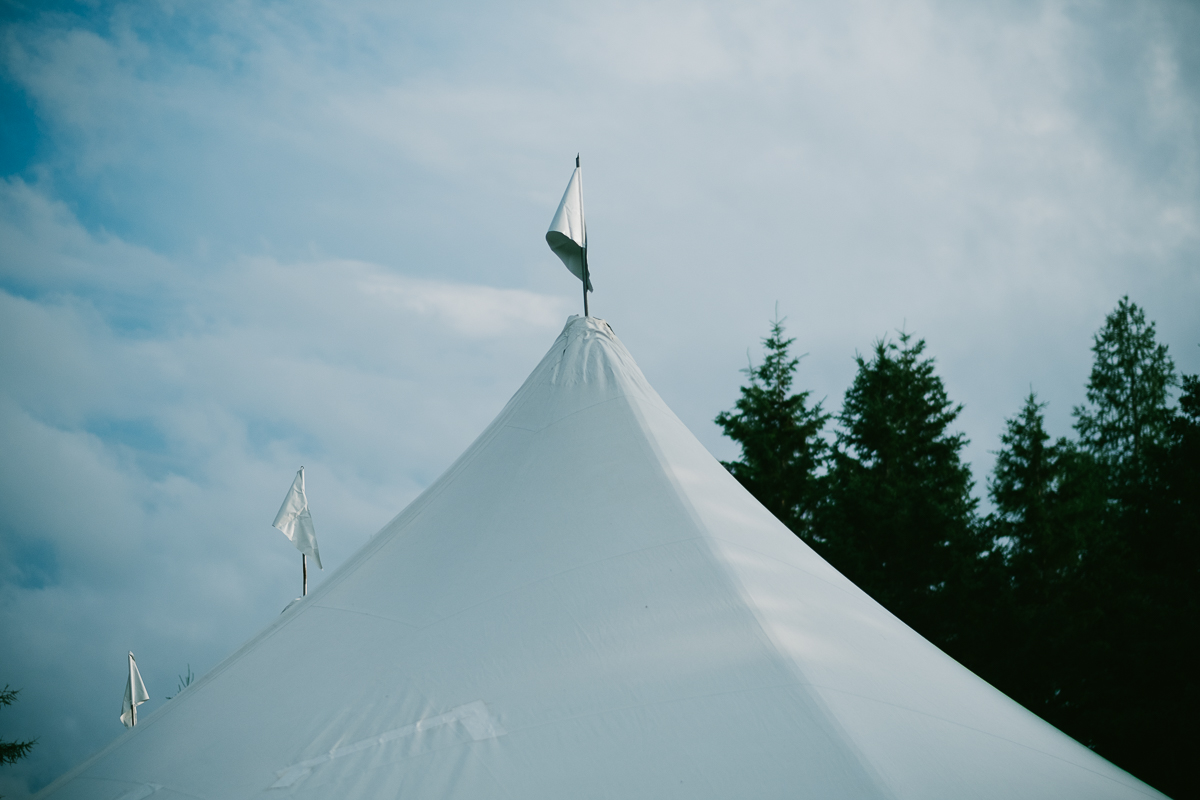 An outdoor wedding in Port Hood Nova Scotia