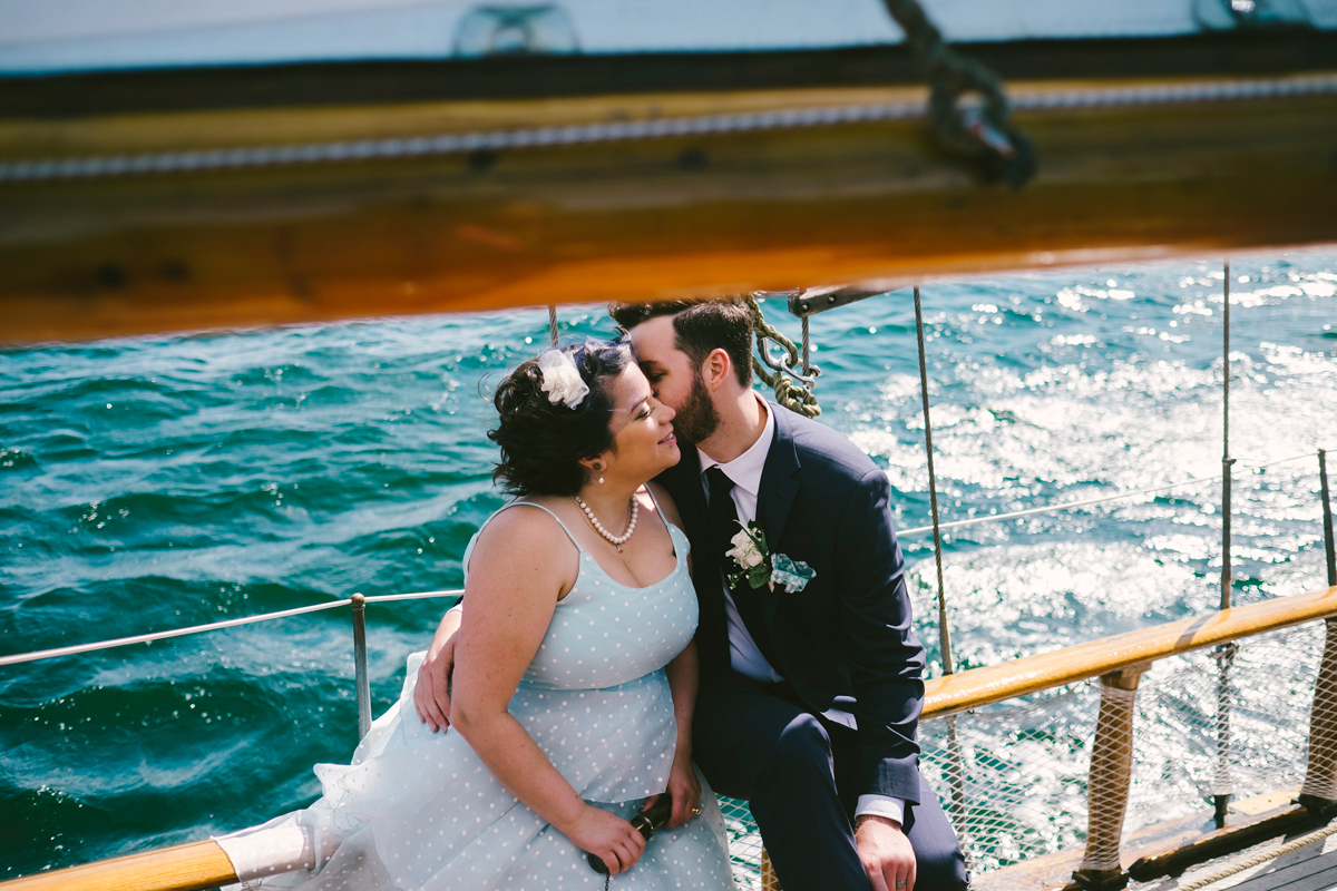 halifax tall ship wedding
