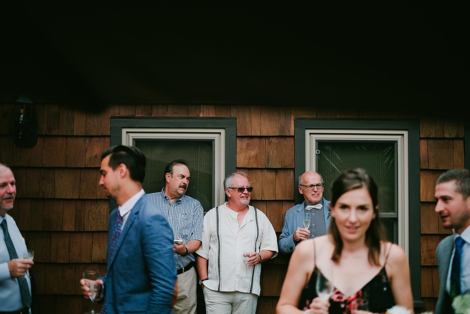 Wolfville Backyard Yurt Wedding