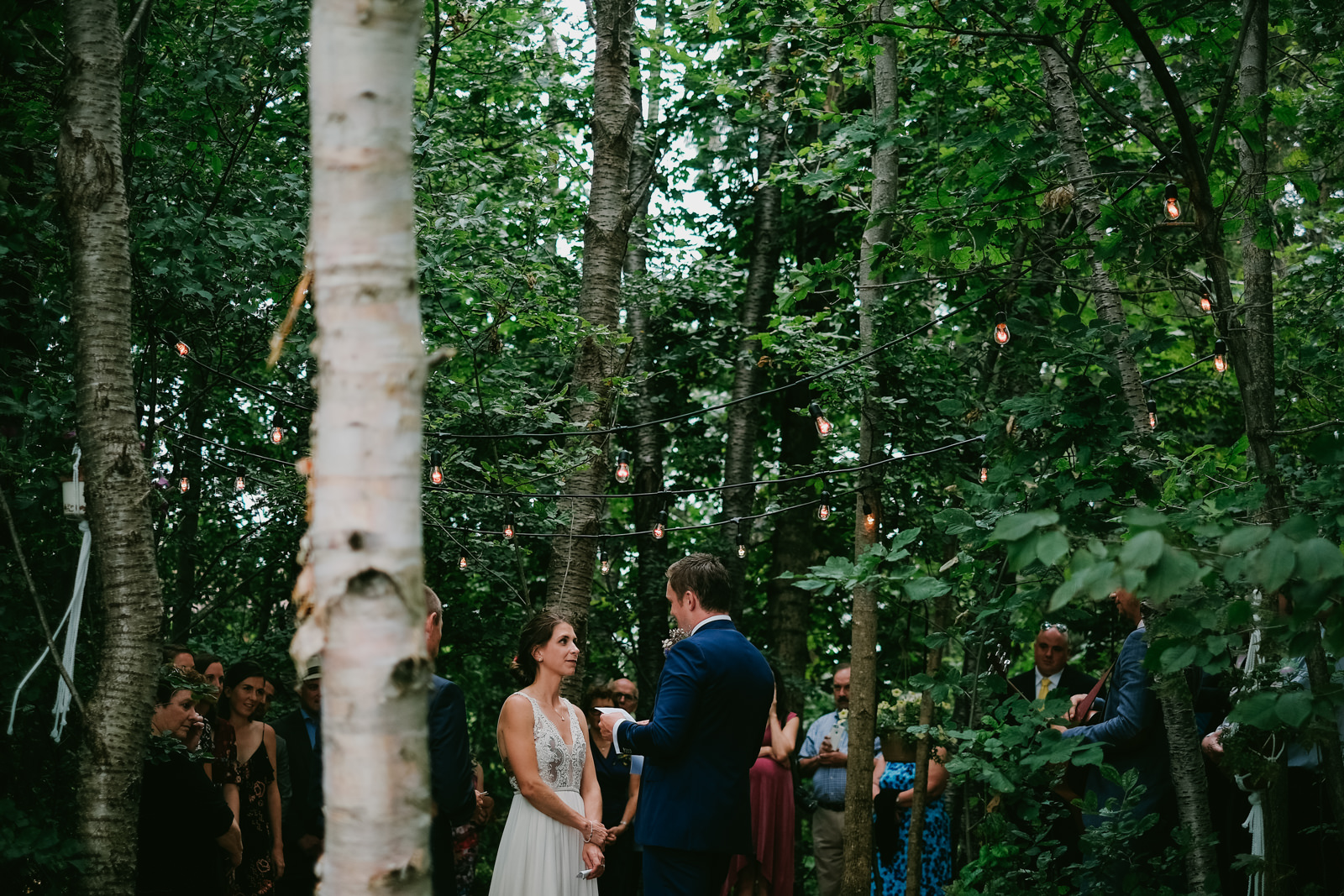 Wolfville Backyard Yurt Wedding