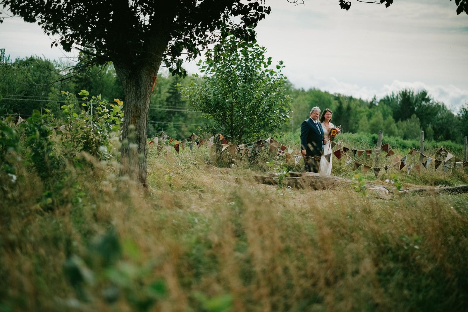 Hants County Backyard Wedding