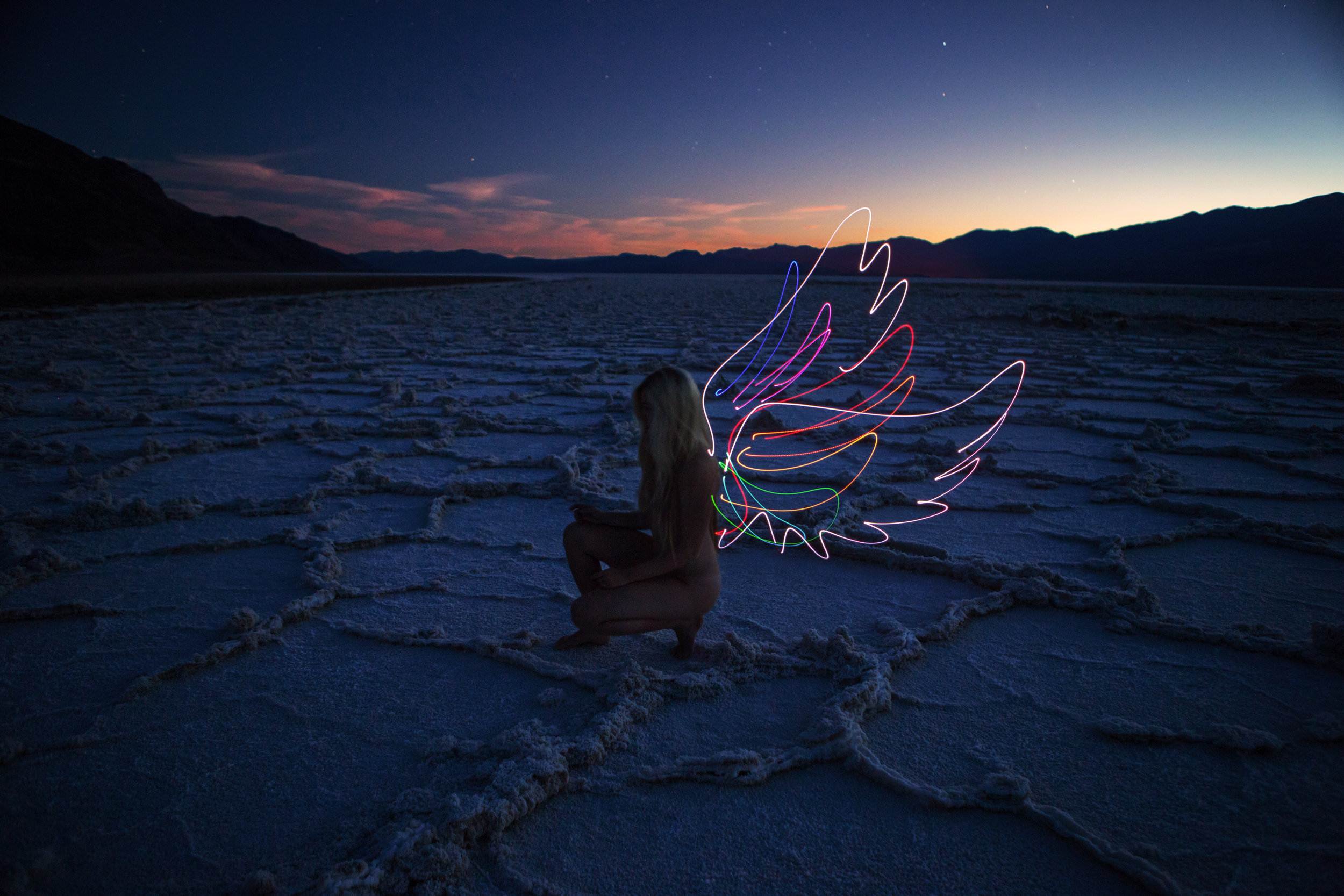 AstroBandit_JordanRose_DariusTwin_DarrenPearson_LightPainting_BadwaterBasin_DeathValley_BlueHour_Angel.jpg