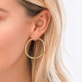 Quinn Hoop Earrings by Gorjana