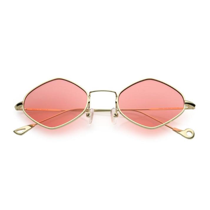 Retro Red Sunglasses by ZeroUV