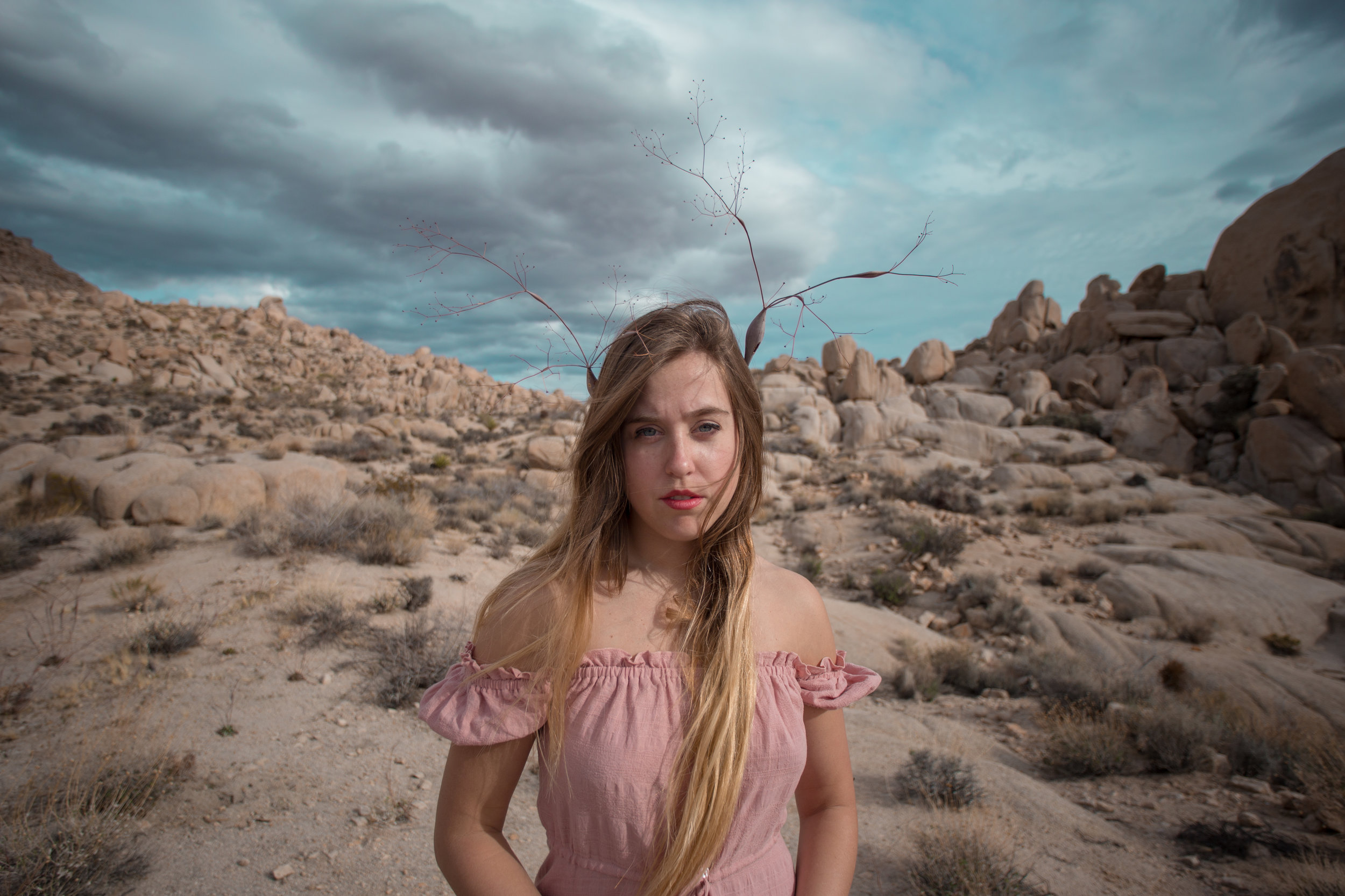 AstroBandit_JordanRose_Auguste_The_Label_LightPink_Spring_2018_Fashion_Maxi_Dress_Joshua_Tree_Storm_4.jpg