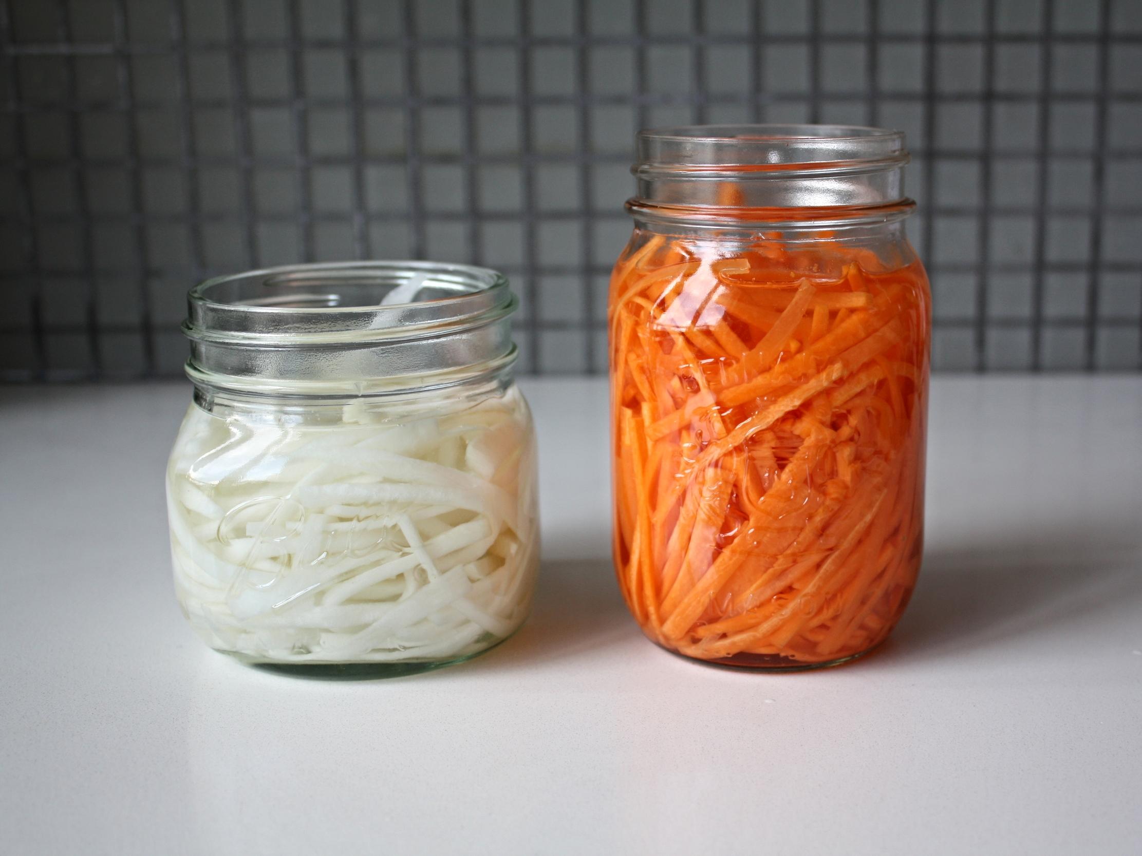 Vietnamese Pickled Vegetables