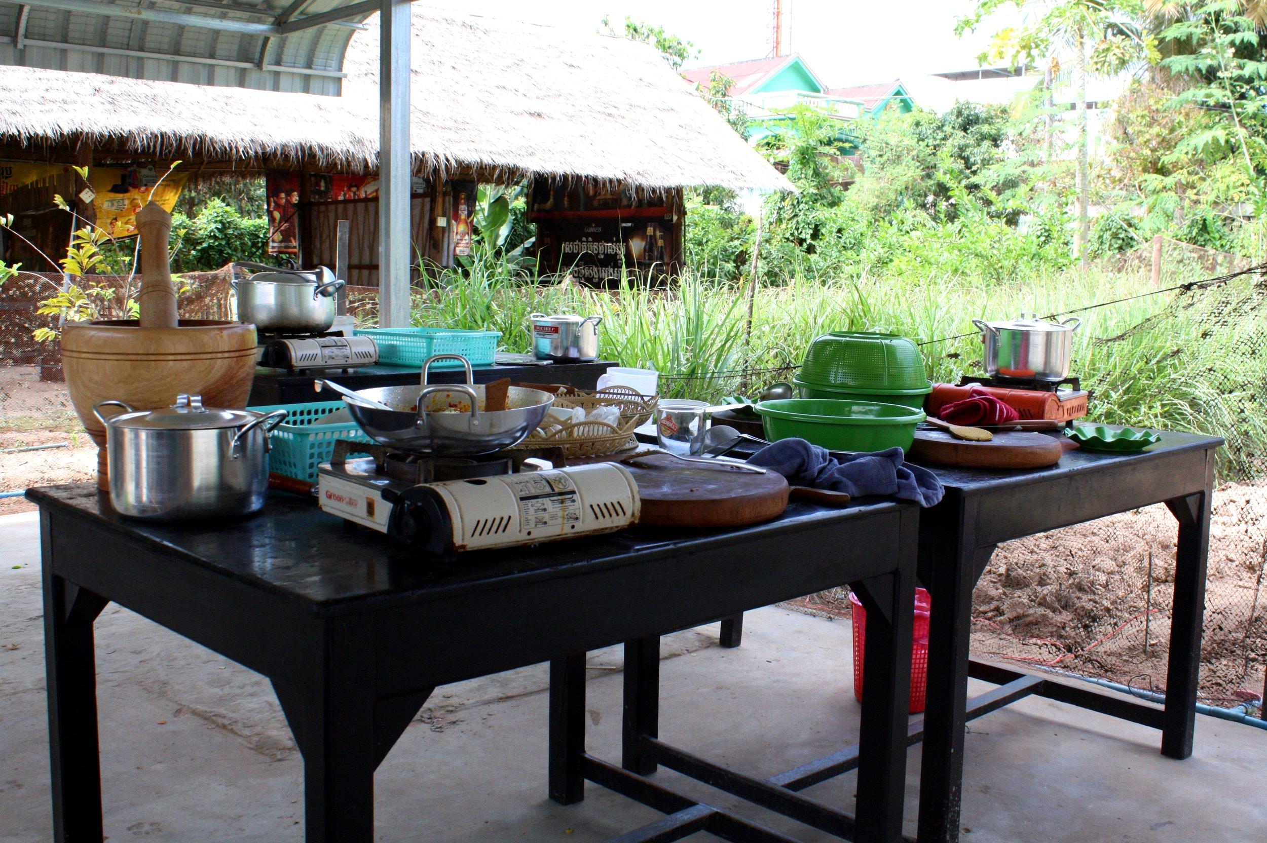 Siem reap cooking
