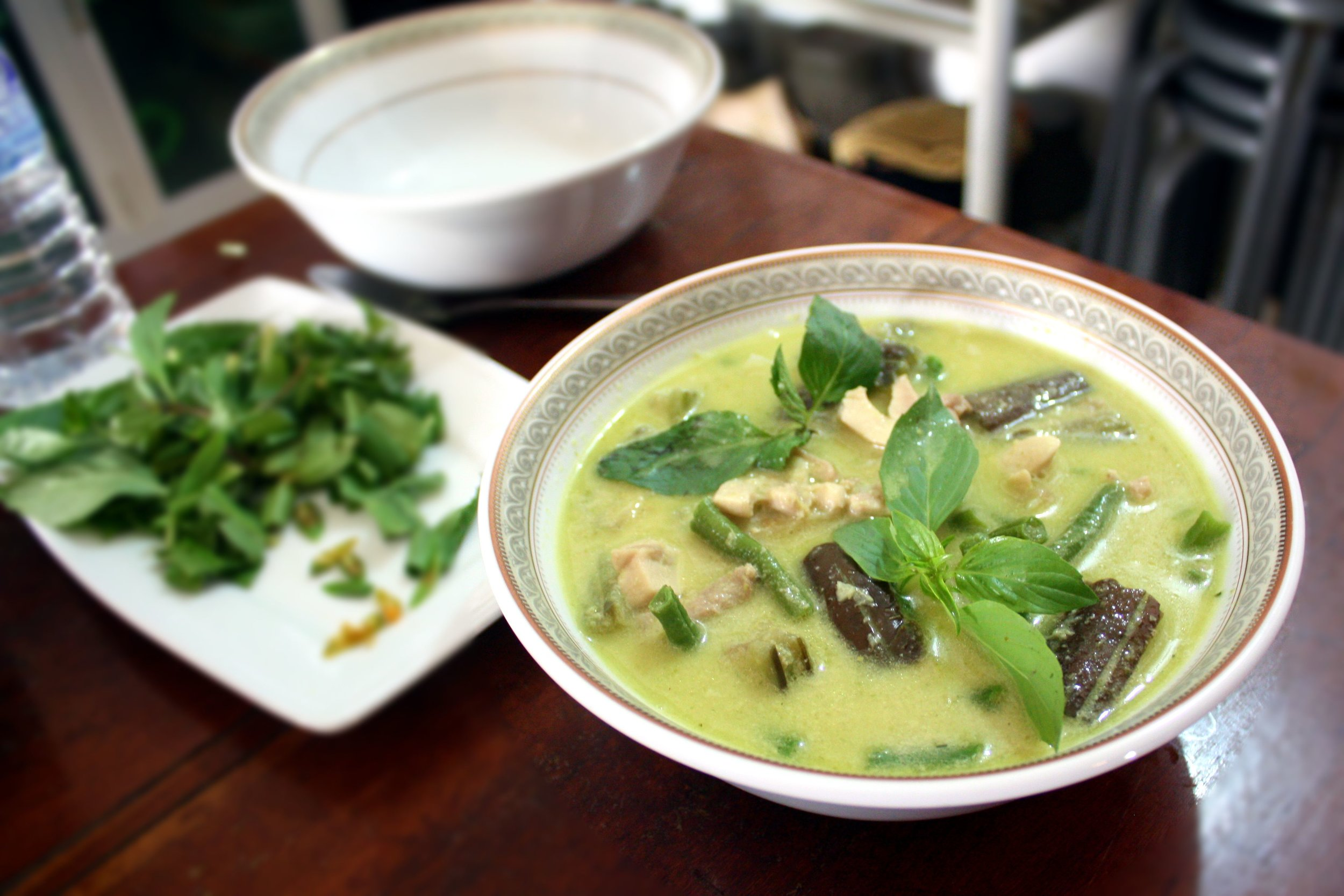 Green curry is complete!