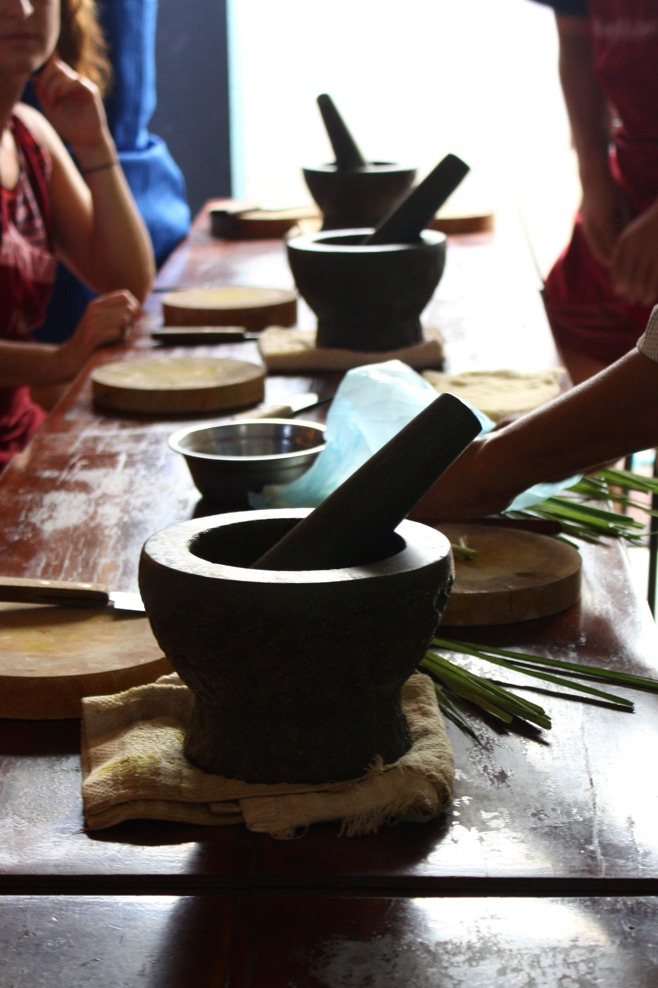 Mortar and pestles make the best curry pastes!